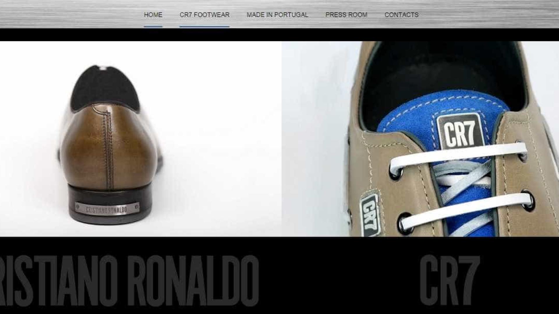 a46a6cca0 Calçado de CR7 a crescer. Até já são vendidos na Coreia