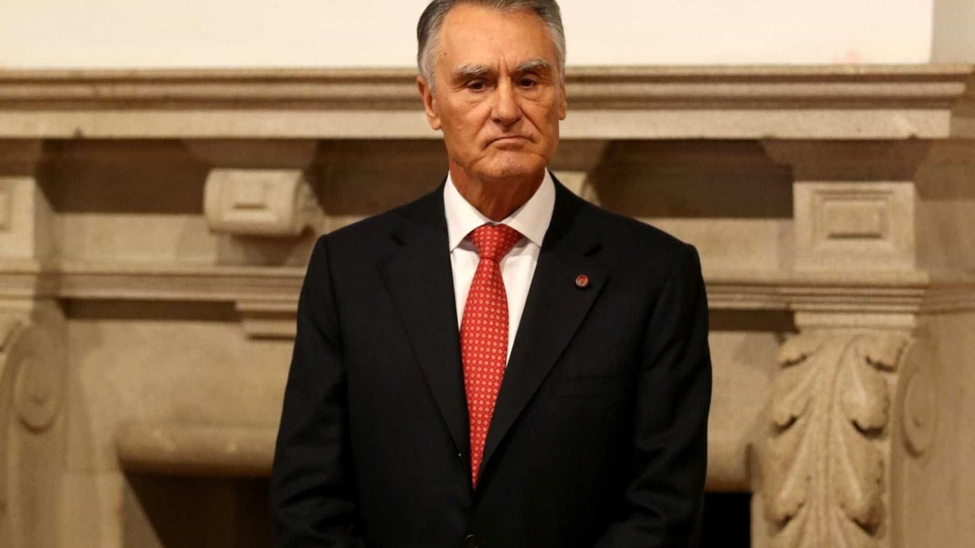 """Seria """"chocante"""" PSD aprovar reforma das Forças Armadas, diz Cavaco Silva"""