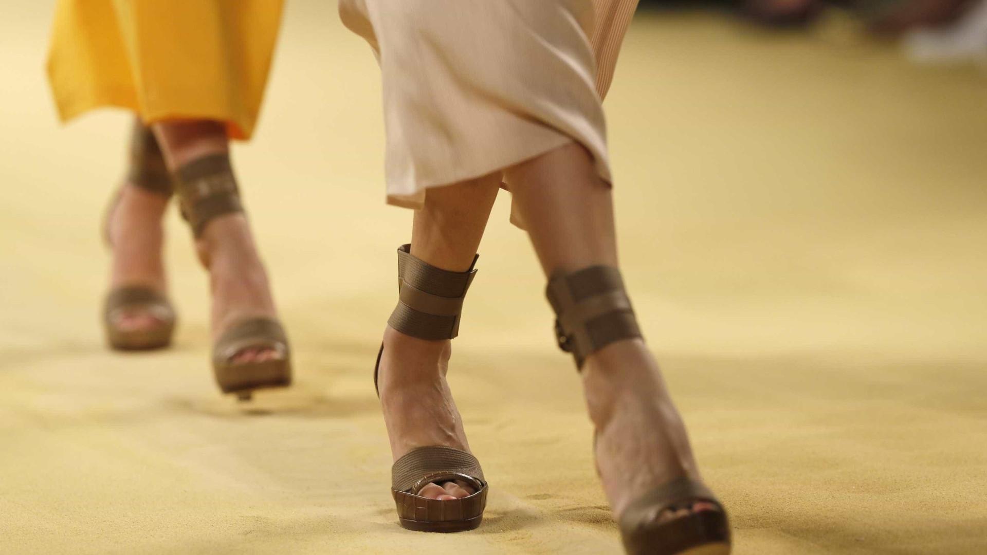 Silhuetas desportivas e padrões clássicos, é assim a nova