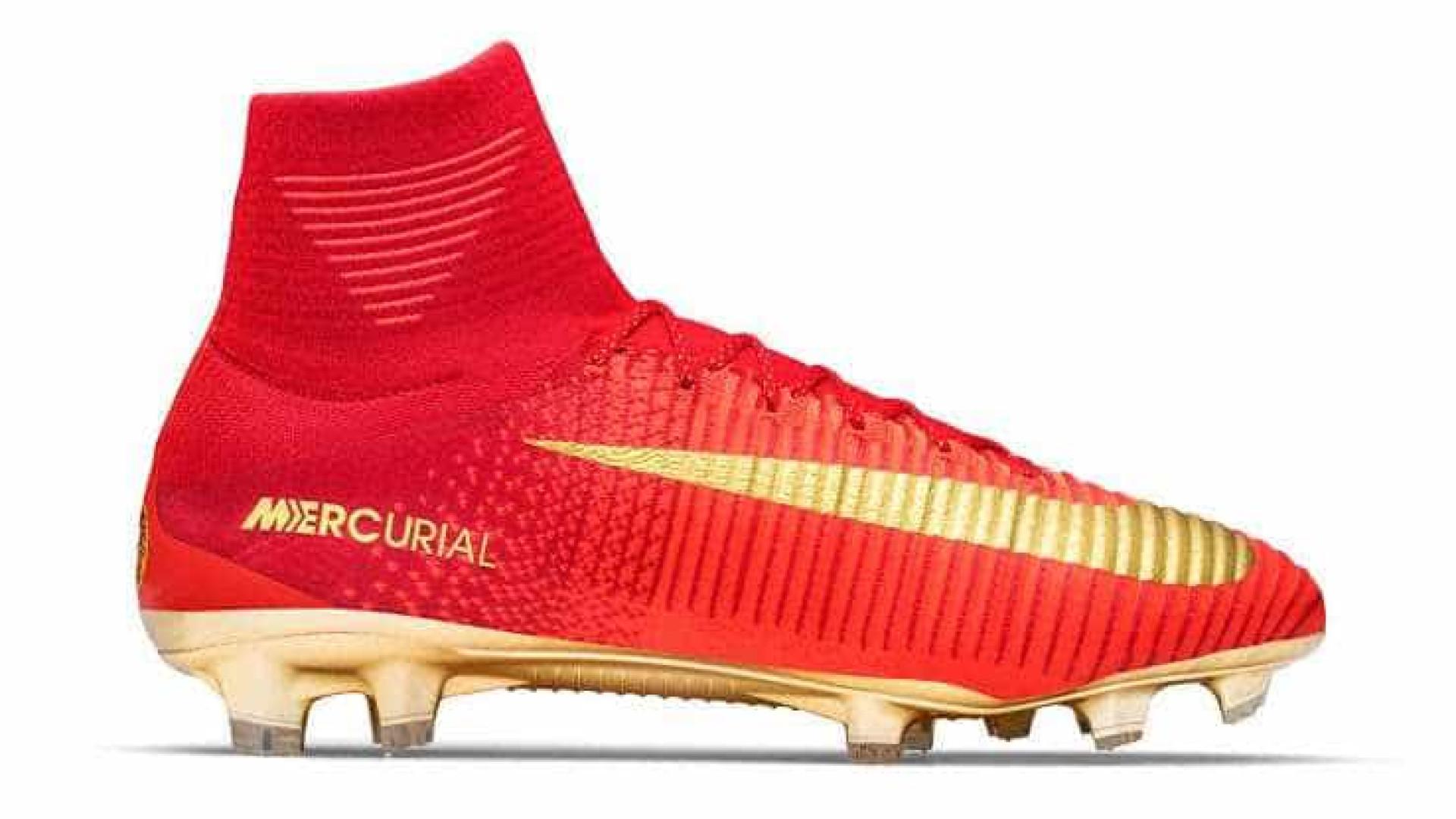 dc74f4a5e0968 Nike cria chuteiras únicas para Ronaldo usar na Taça das Confederações