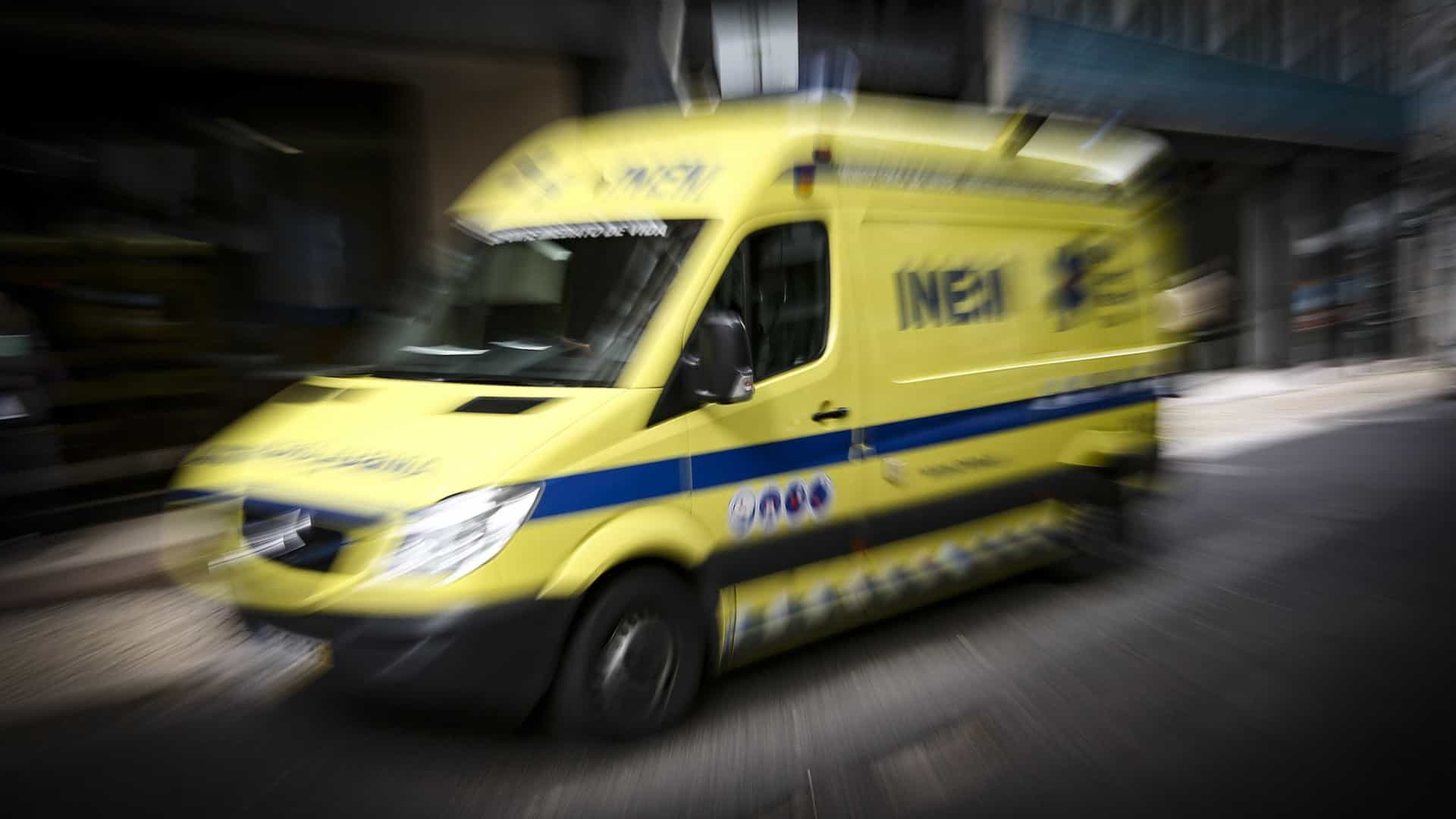 Homem gravemente ferido em acidente de trabalho em Ponte de Sor