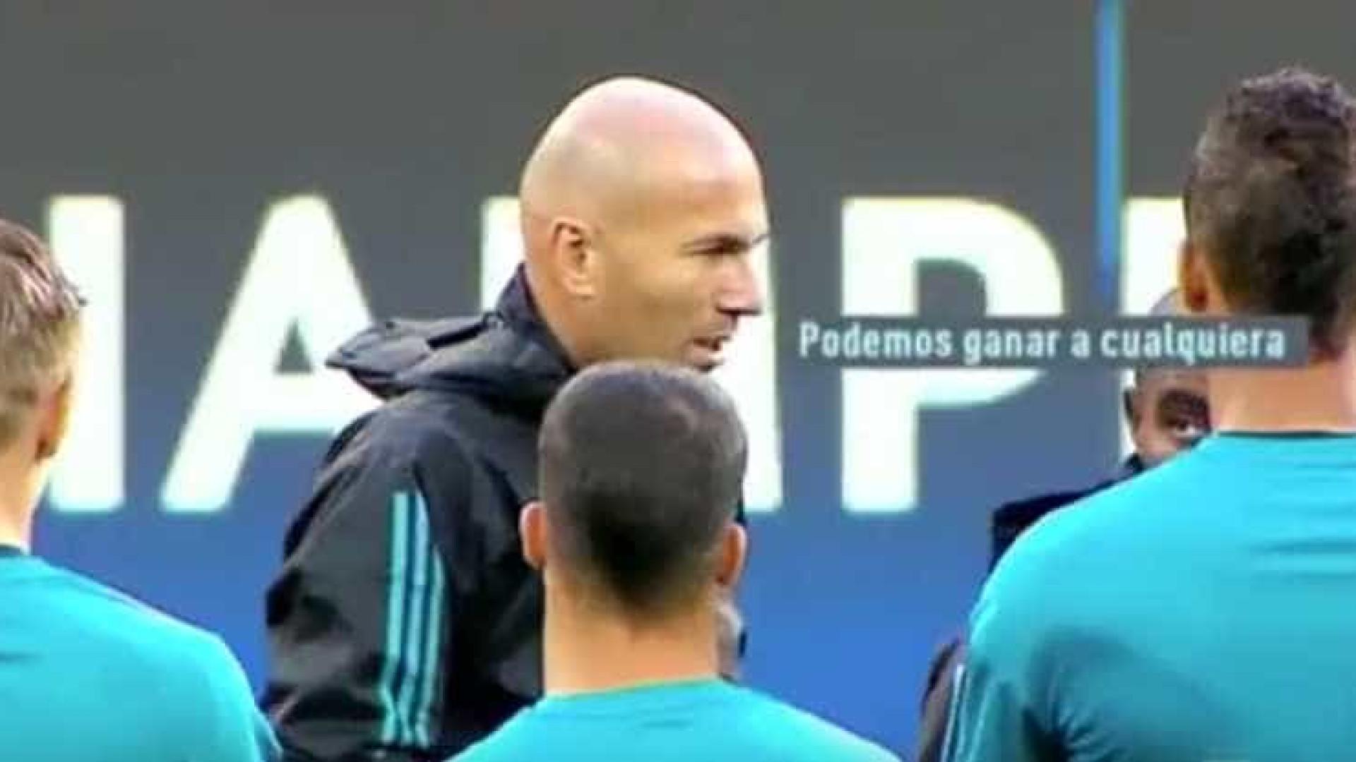 O Discurso Motivacional De Zidane Podemos Ganhar A