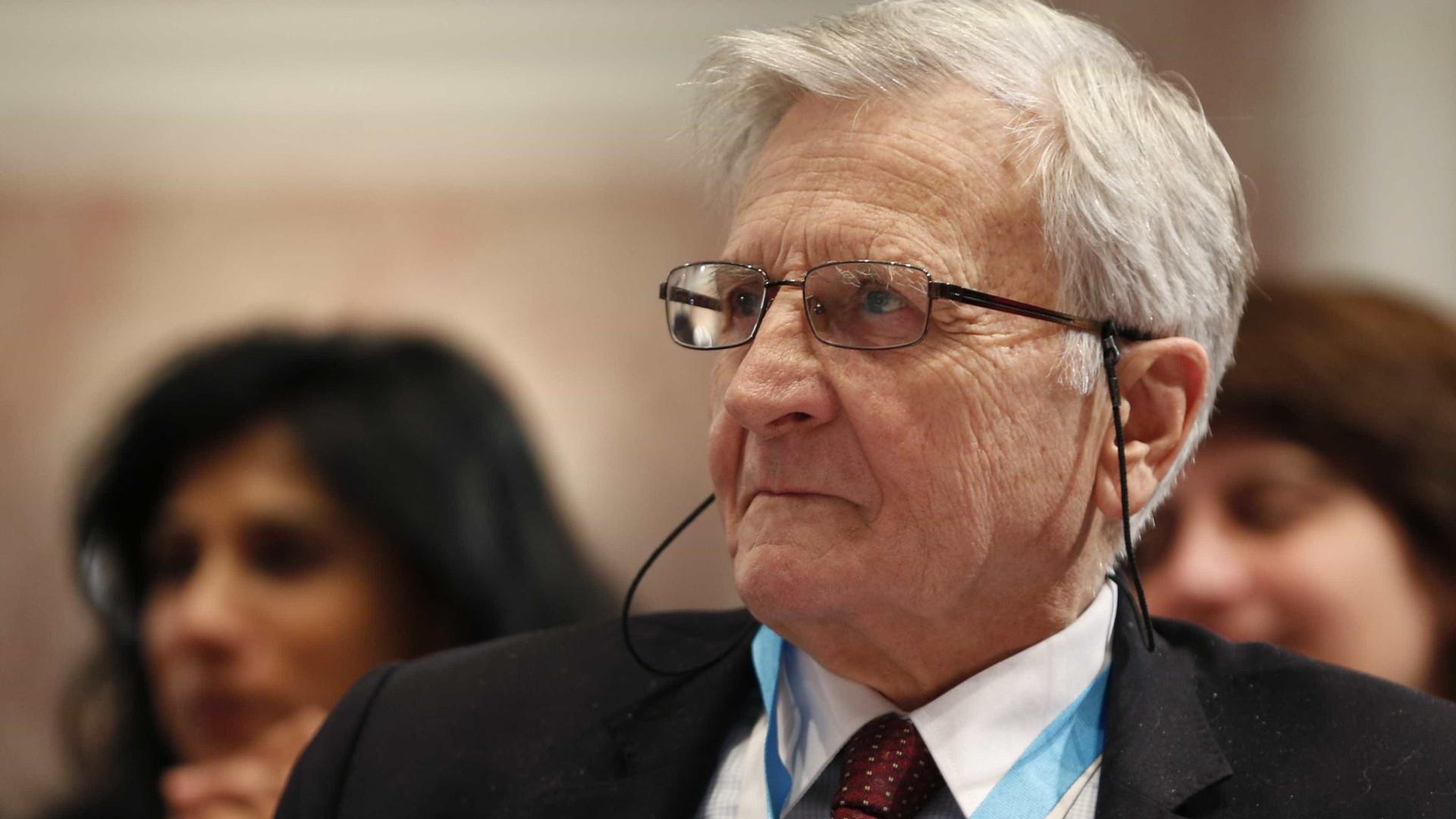 """Trichet: Situação da zona euro é """"mais sólida que em 2008"""""""