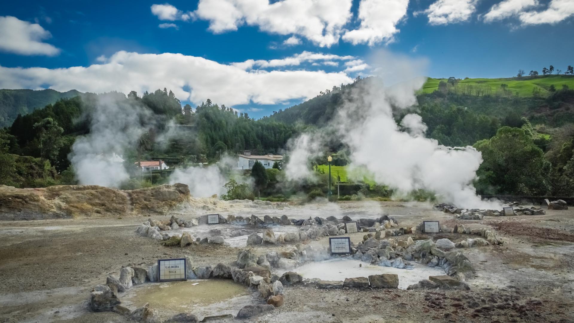 Casa de chá nos Açores aposta na cozinha geotermal