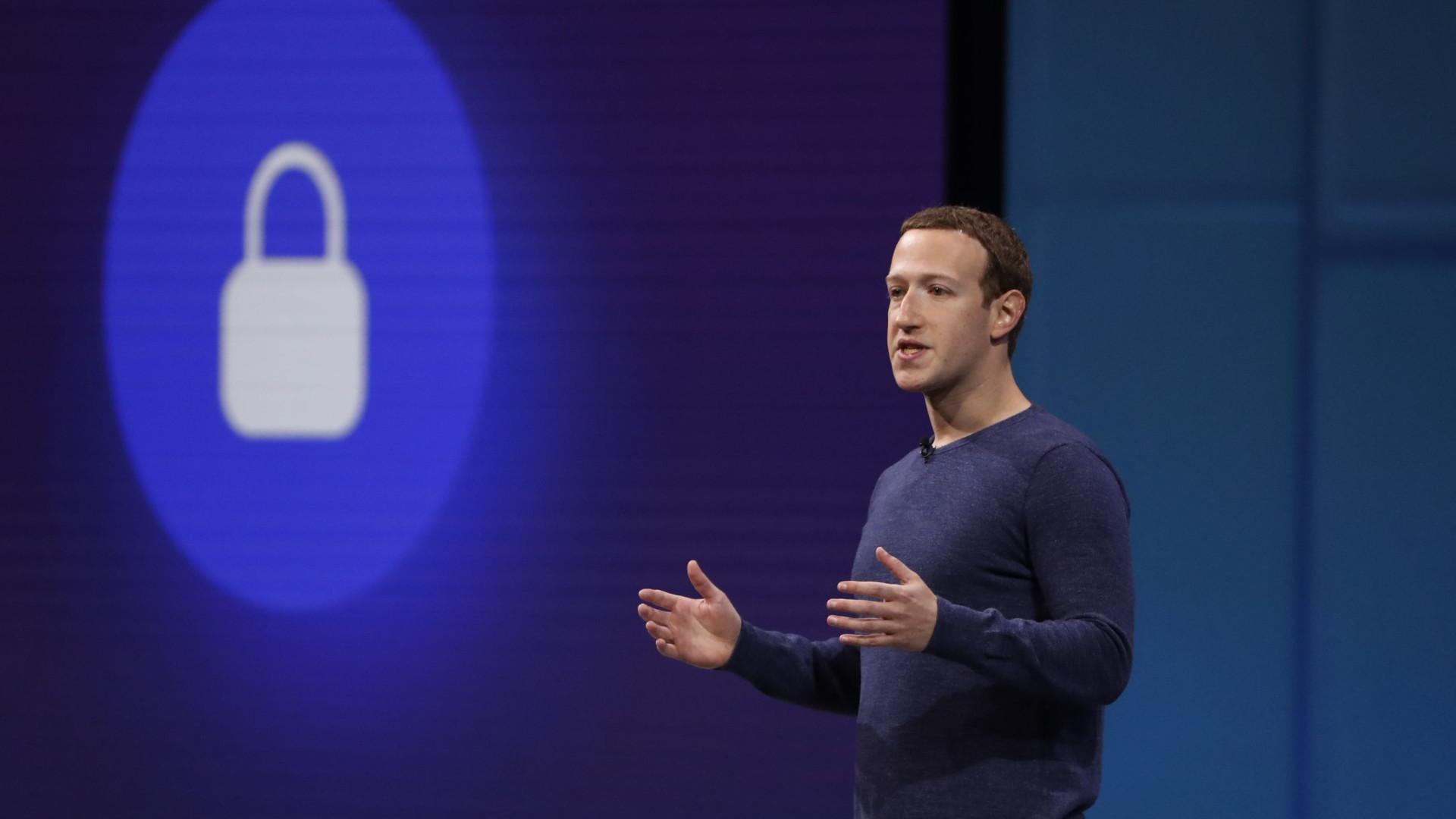 Mark Zuckerberg reúne-se hoje em Bruxelas com comissários europeus