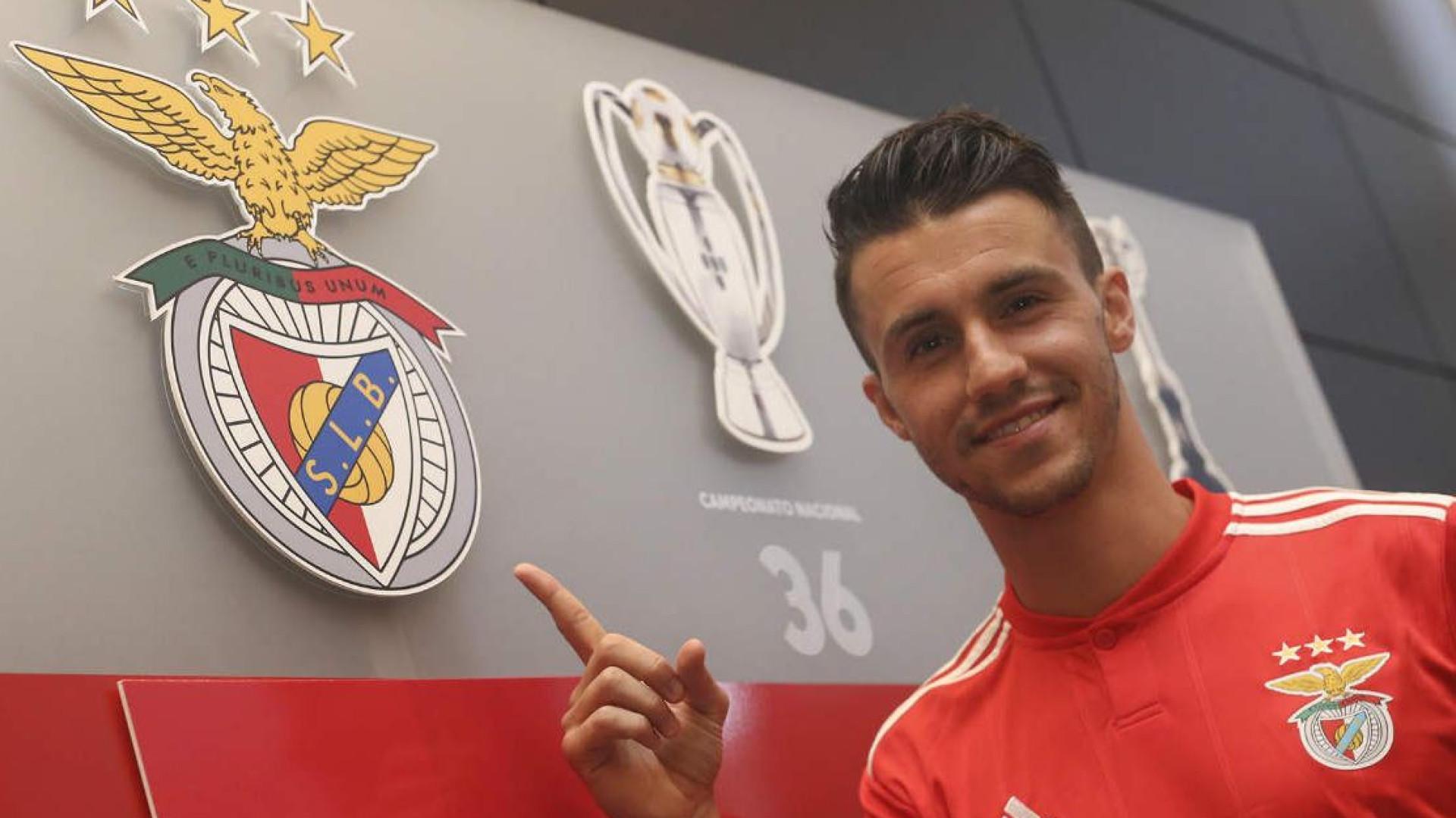 65f5453b04 A mensagem de Corchia na despedida do Benfica: