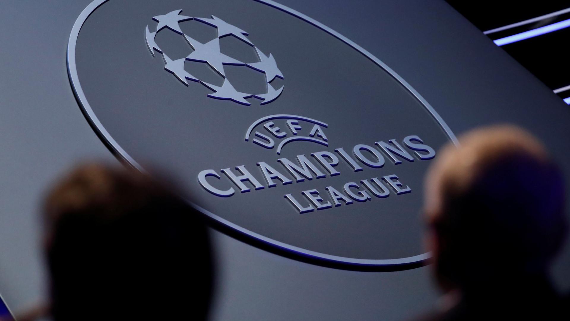 Campeões liga dos
