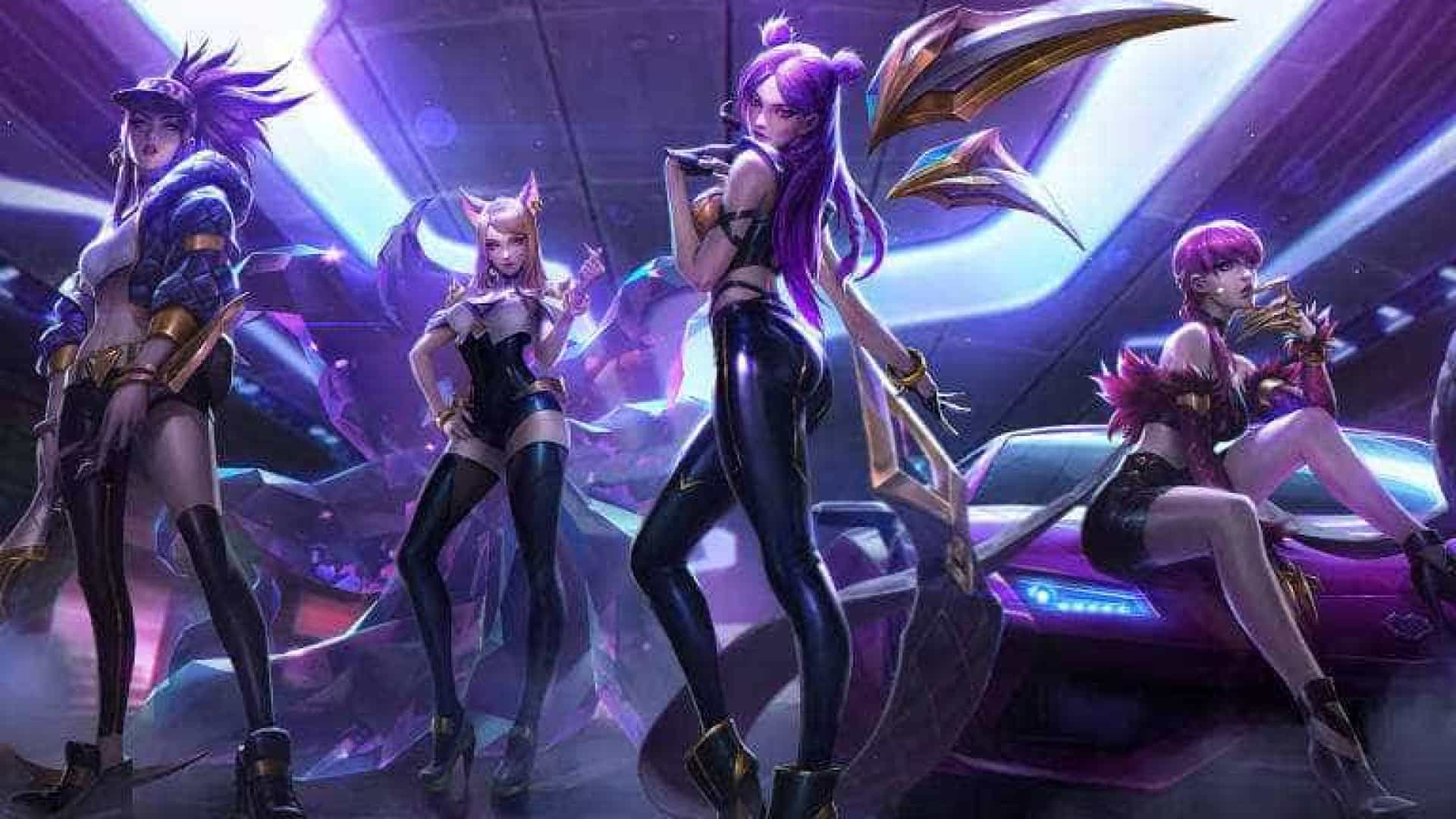 f1a5821c6ef4 Empresa de jogos cria banda feminina virtual inspirada no k-pop