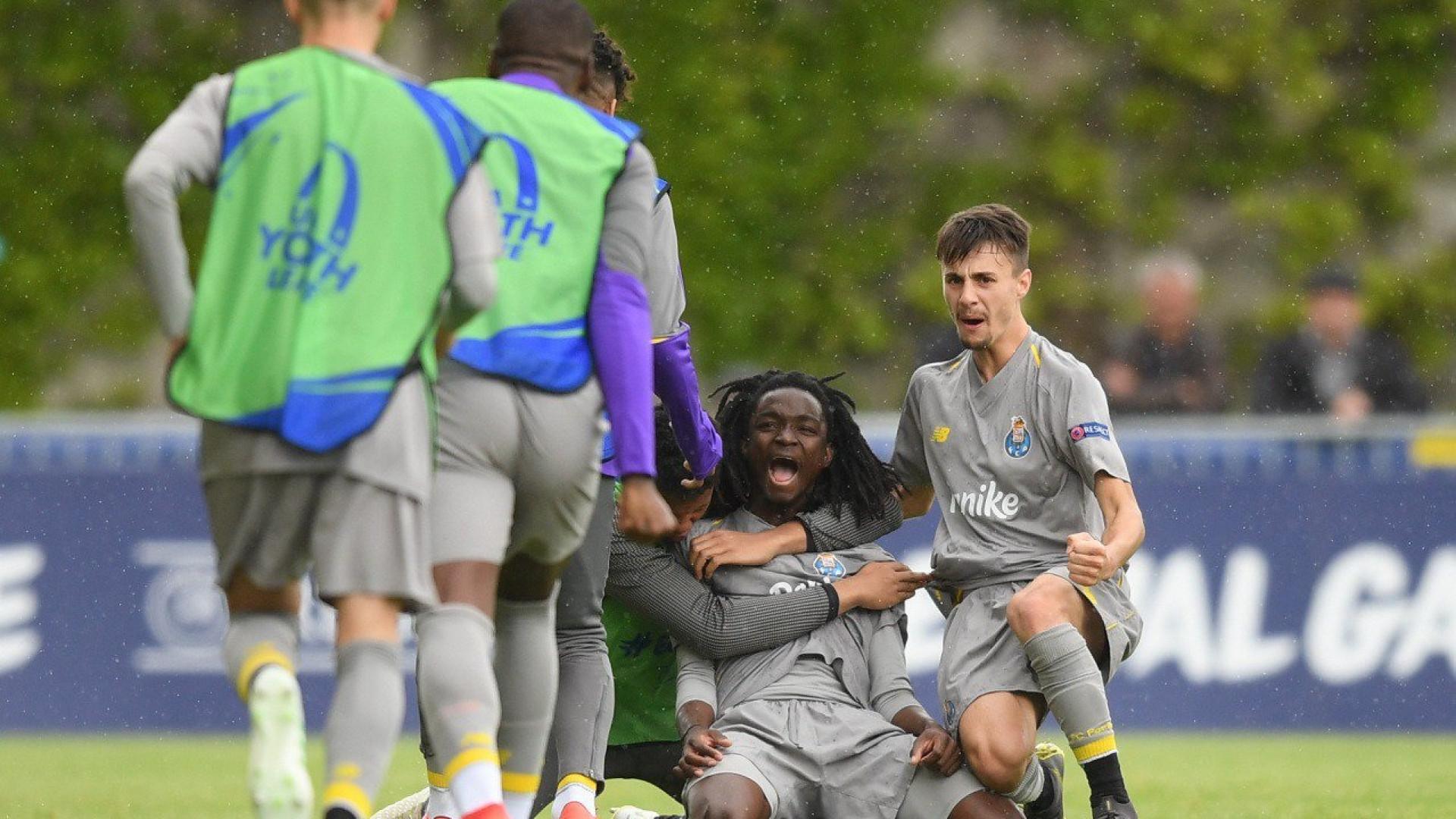 FC Porto já sabe que defronta o Chelsea na final da UEFA Youth League