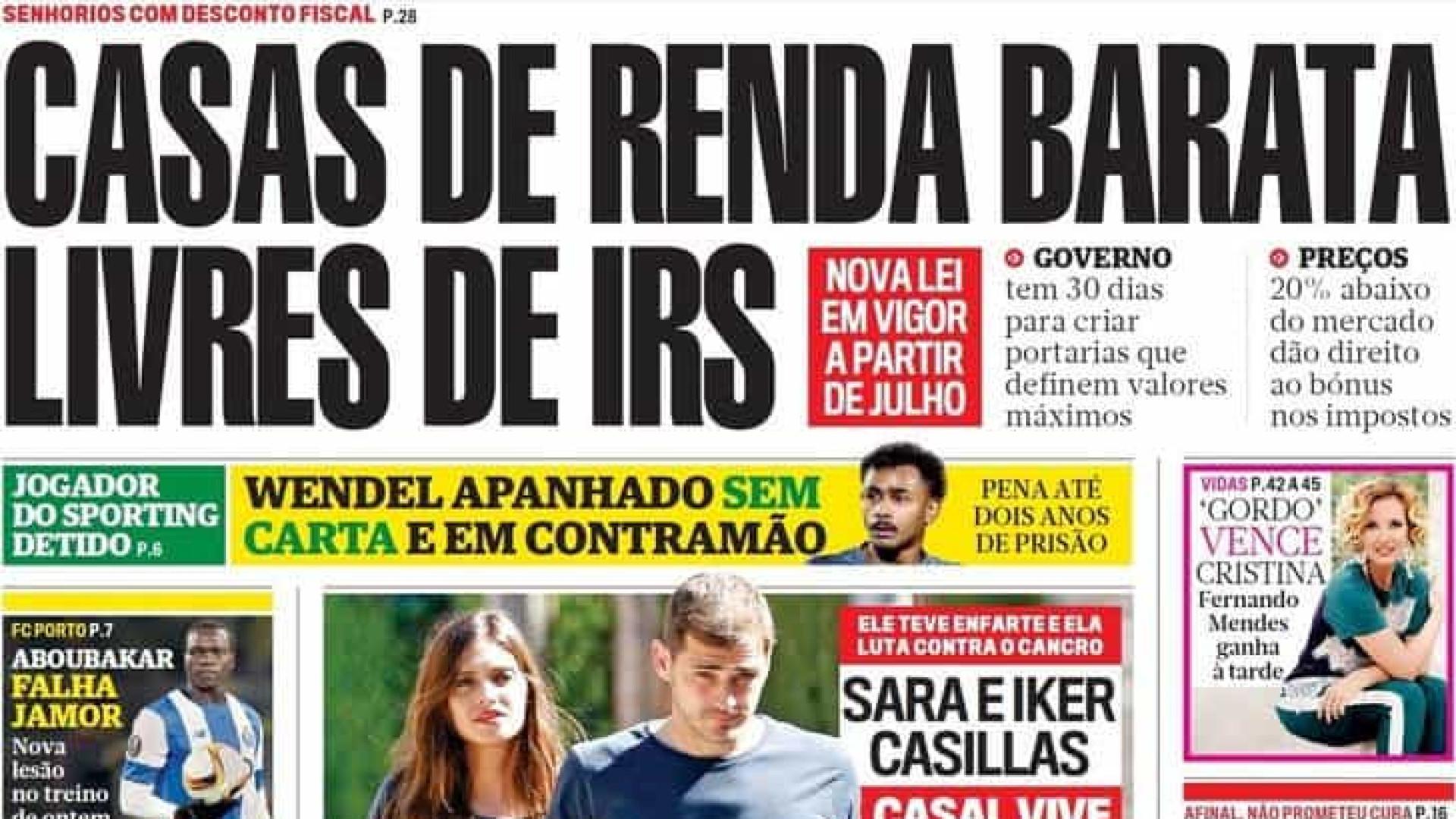 Hoje é notícia: Rendas baratas sem IRS