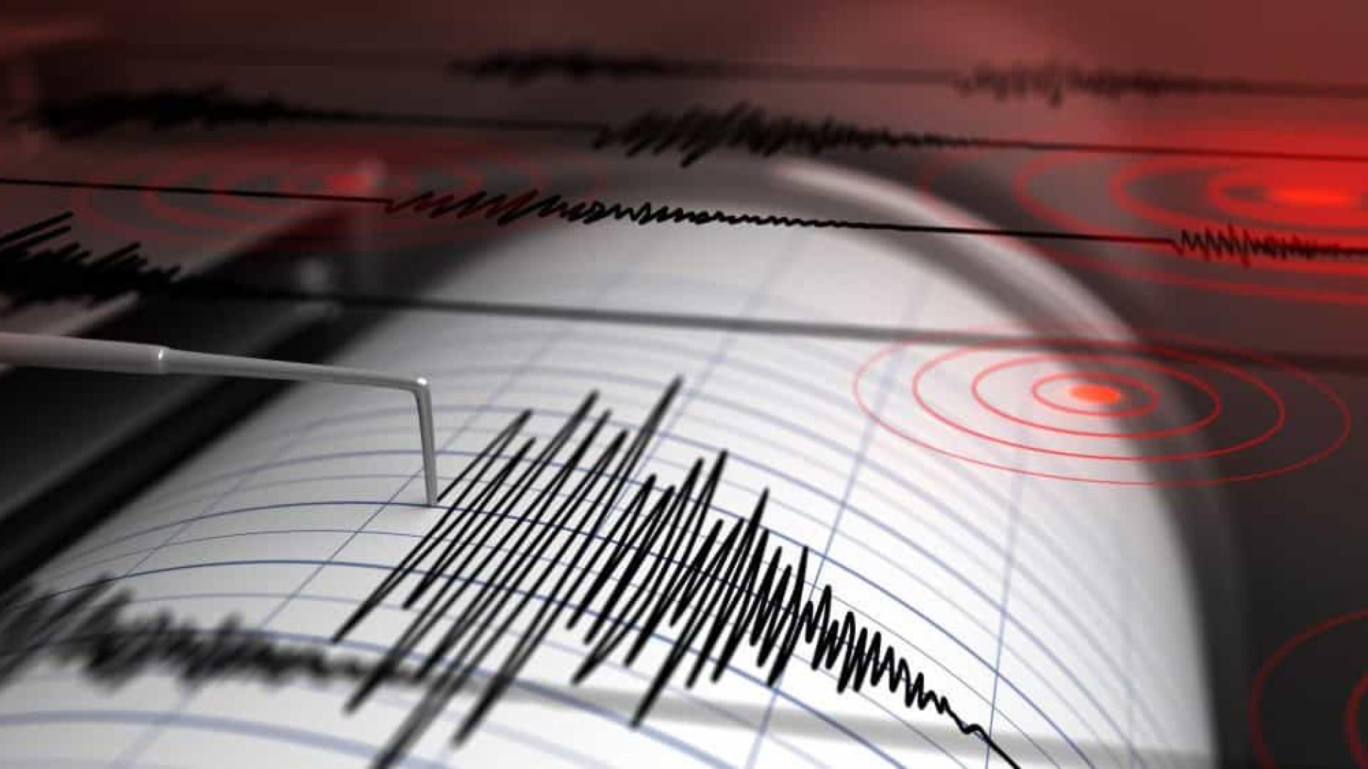 Sismo de magnitude 4,2 sentido no Faial, Pico e São Jorge