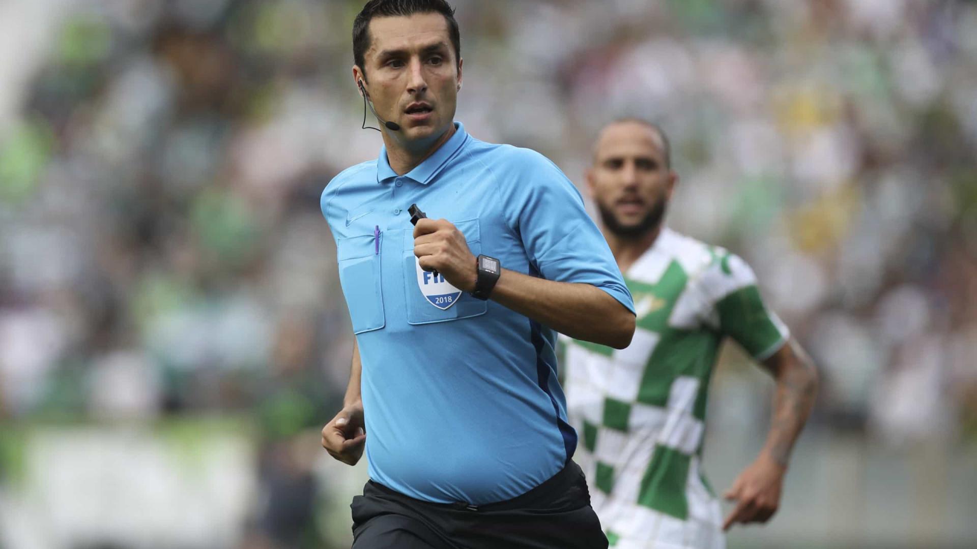 Já há árbitro para a final da Taça da Liga