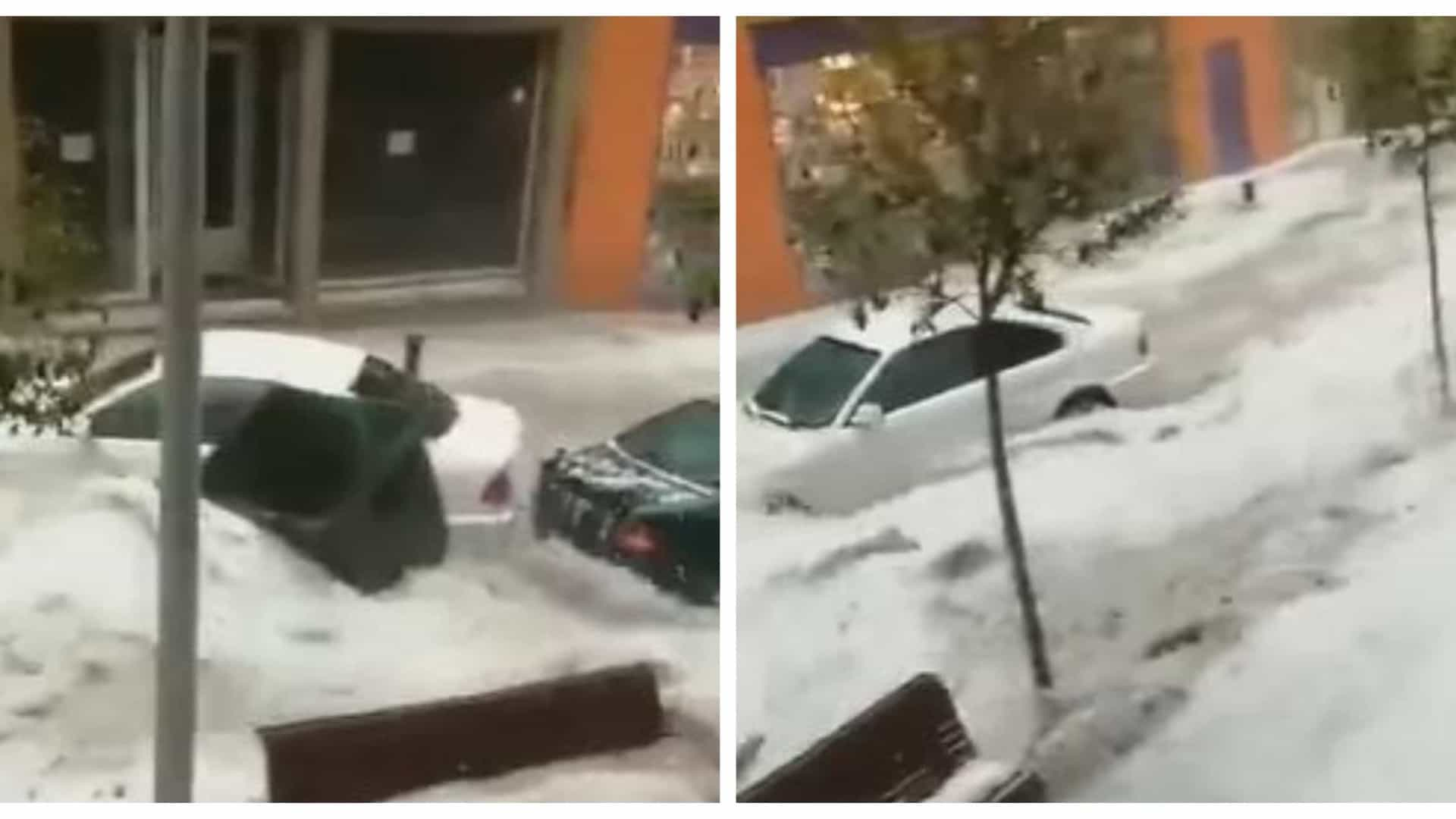 Madrid: Tempestade corta estradas e metro, inunda ruas e gera o caos