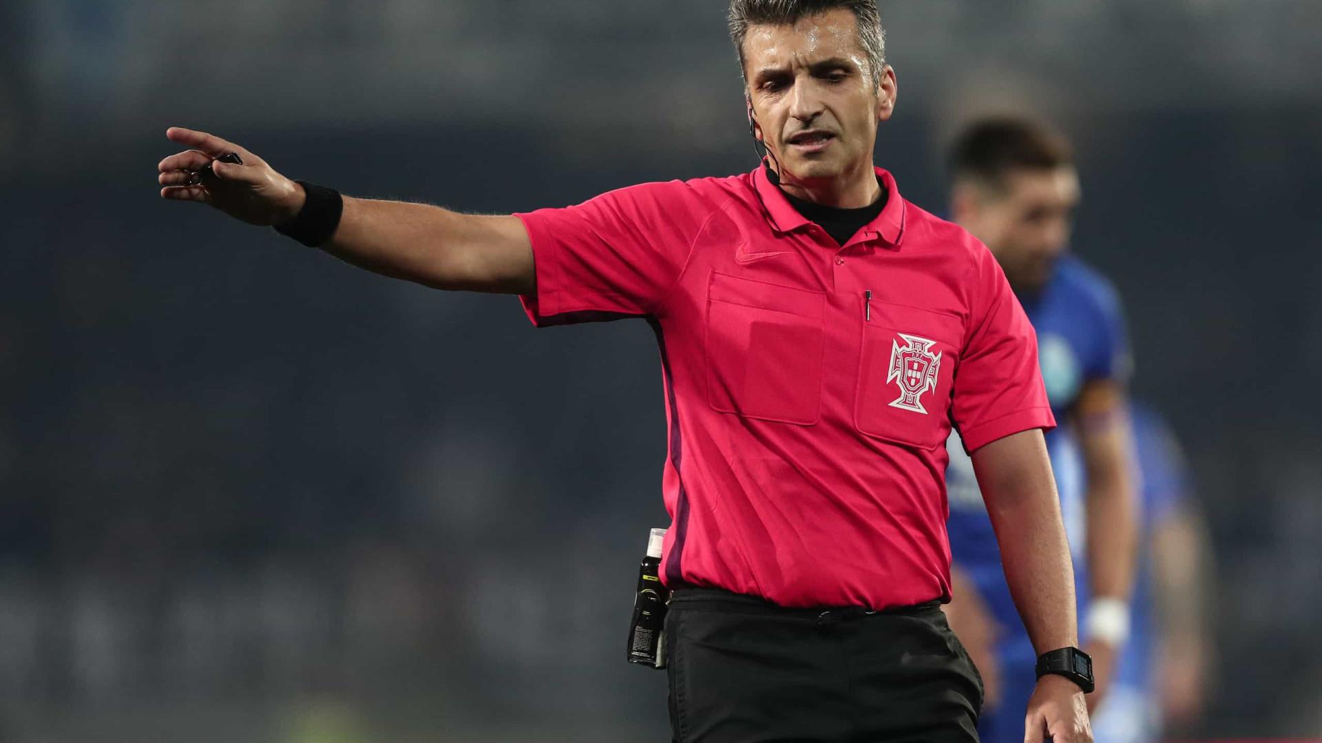 Rui Costa é o árbitro do encontro entre o Sporting e o Marítimo