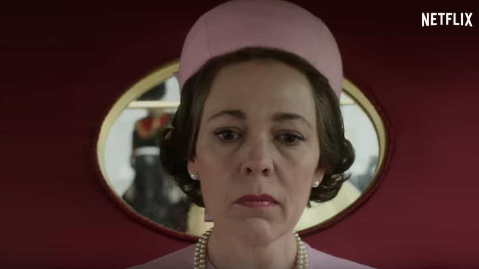 Já há trailer para a 3.ª temporada da série sobre a vida de Isabel II