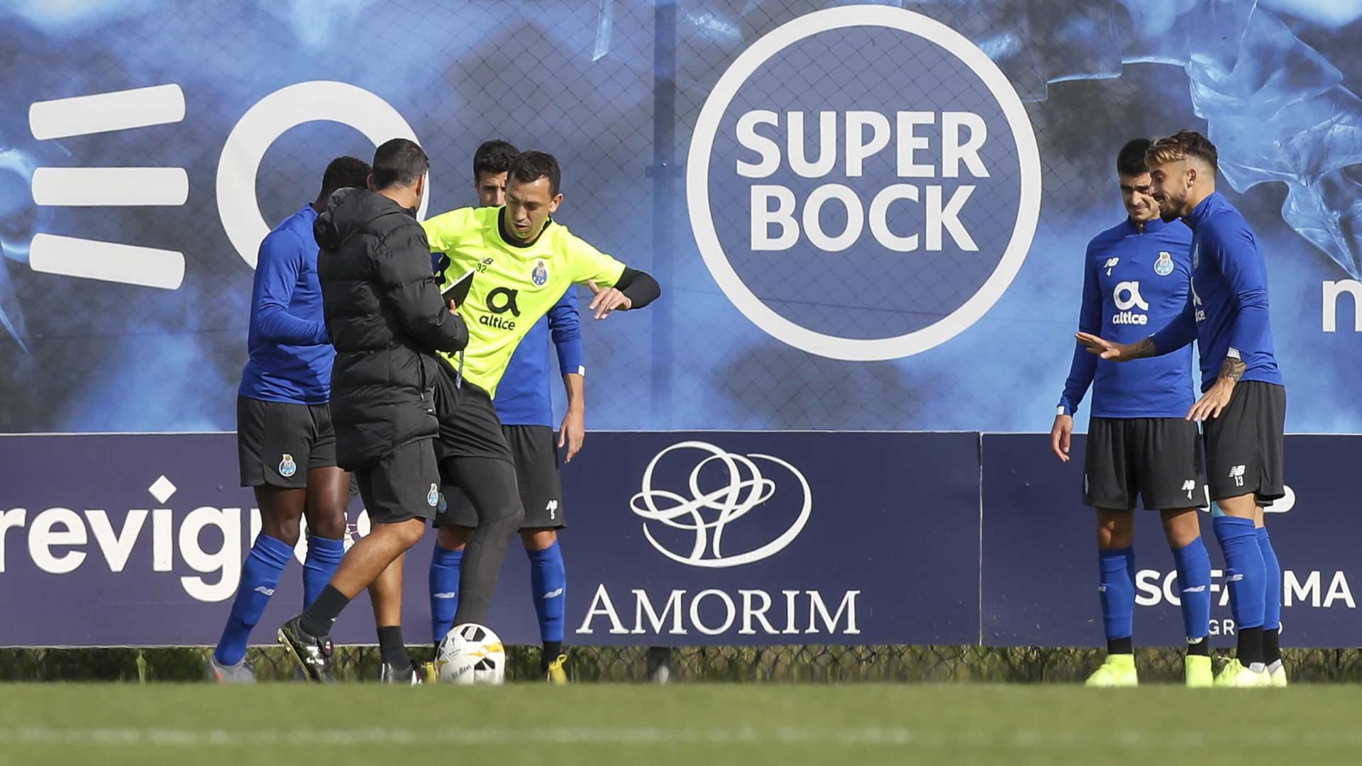 FC Porto inicia preparação para o Tondela com apenas uma baixa