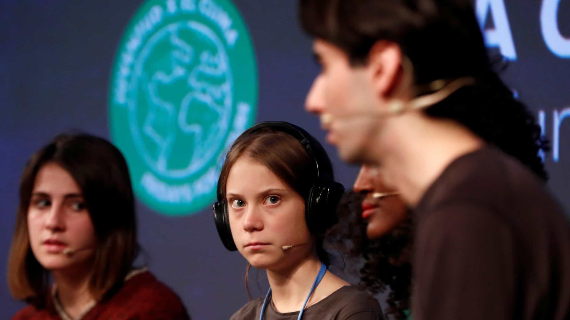 """COP25: """"Sou apenas uma ativista, sou apenas uma peça"""", diz Greta"""