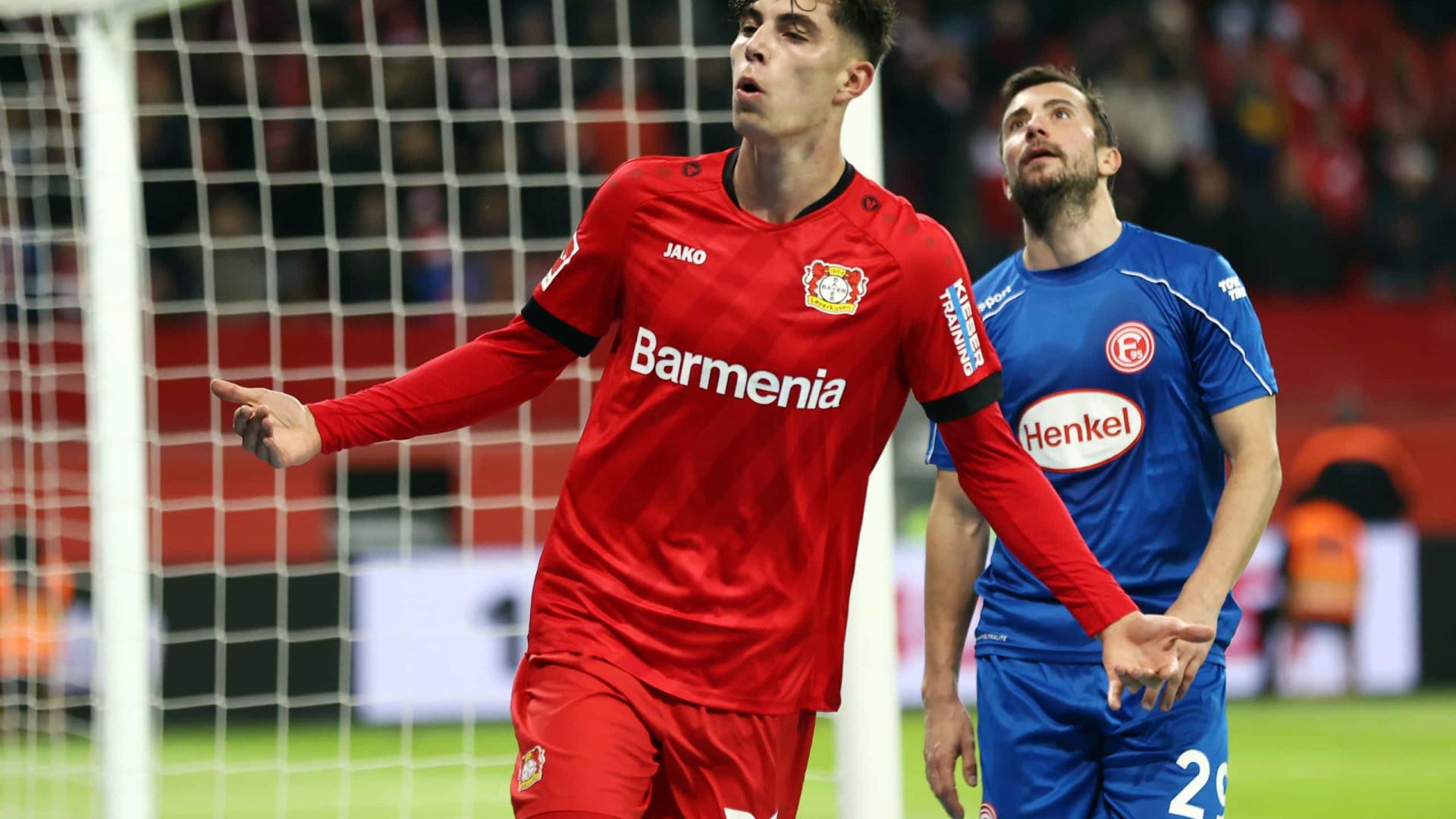 Atenção, FC Porto: Leverkusen vence e sobe a quinto na Alemanha