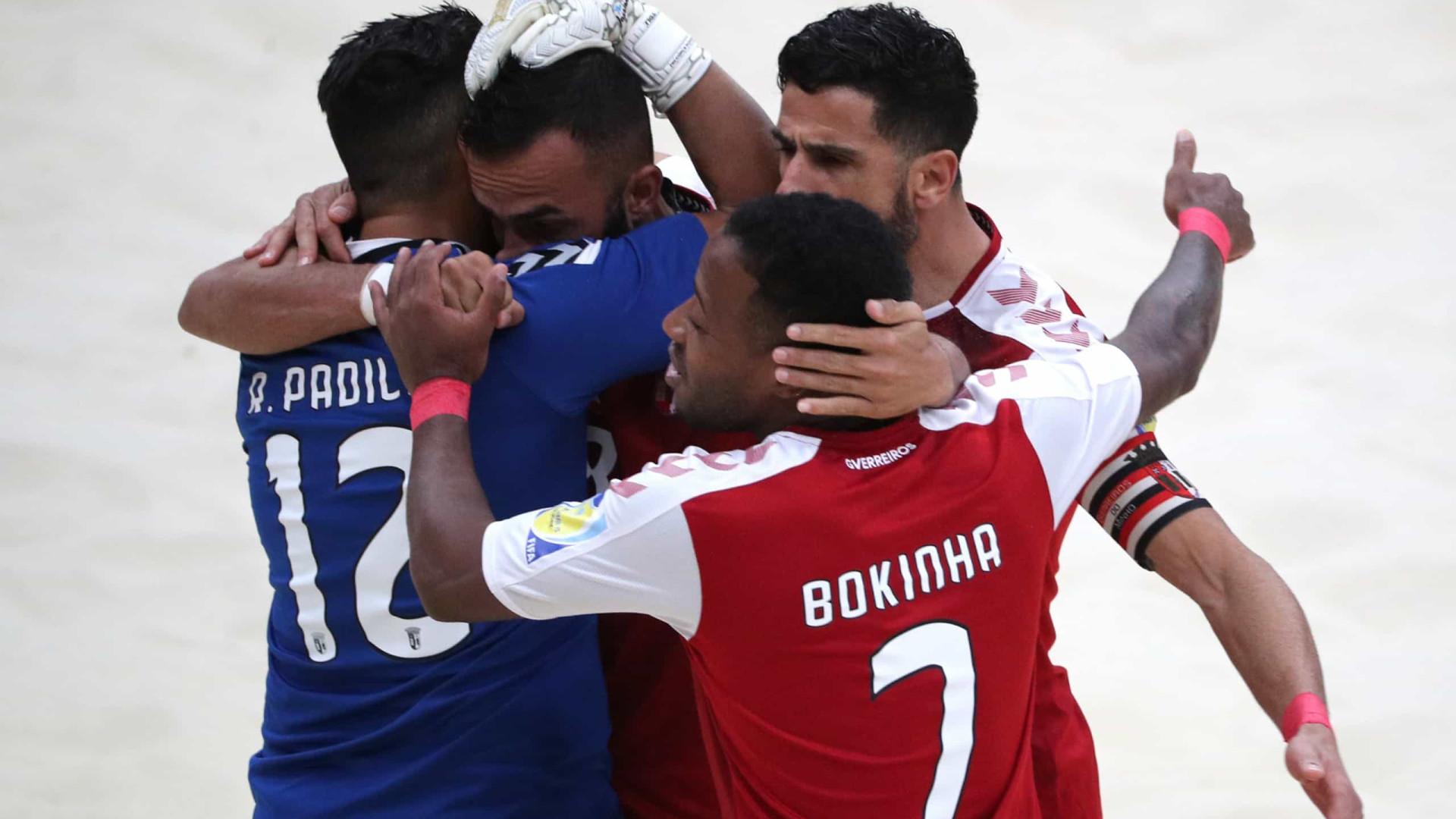 Sporting Braga goleia e conquista Mundialito de Futebol de Praia