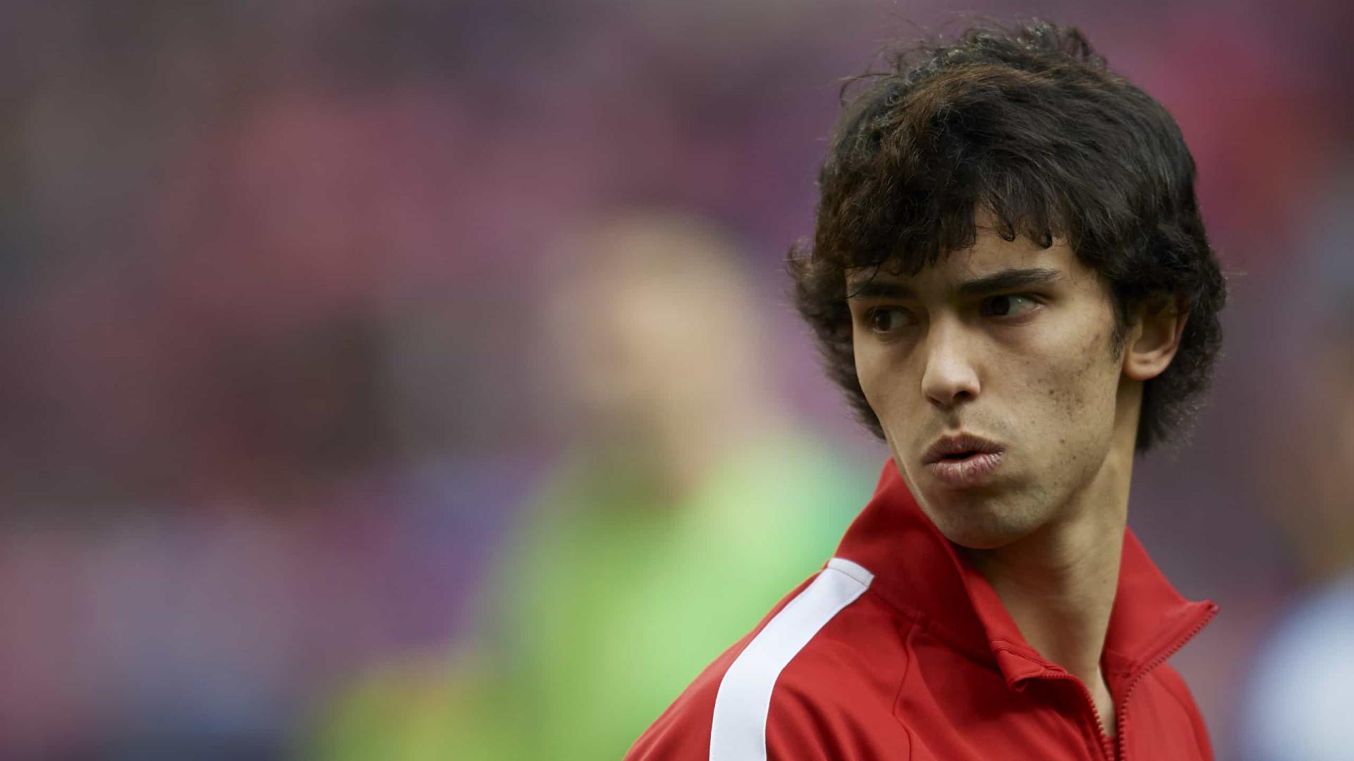 João Félix de volta aos convocados do Atlético de Madrid
