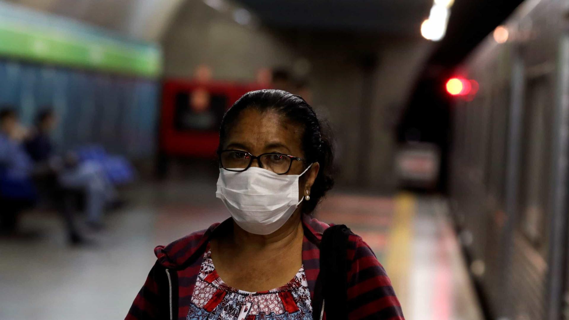 Covid-19: Brasil regista 54 novas mortes num dia e total chega a 486