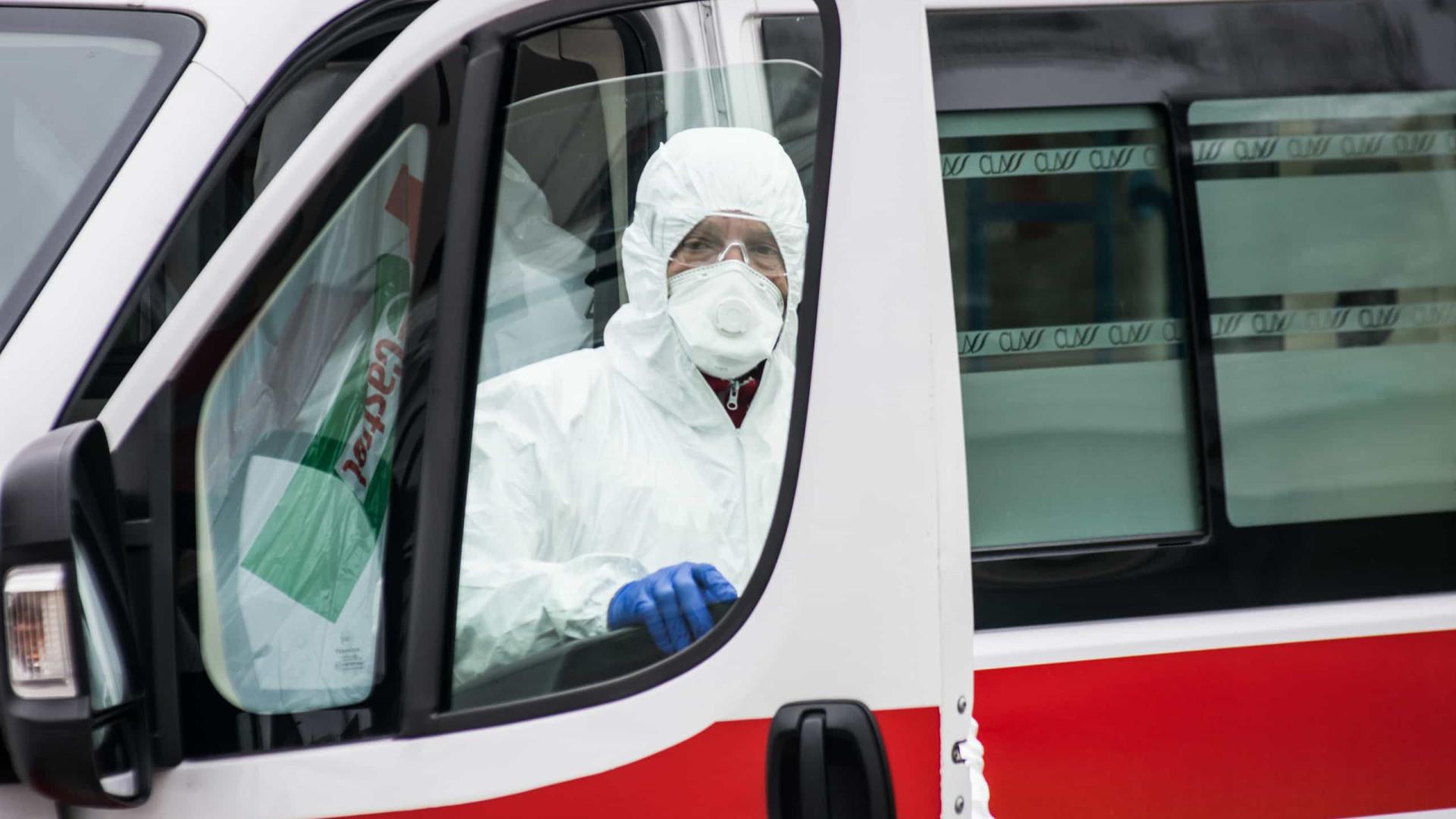 Covid-19: Itália com mais 793 mortos nas últimas 24 horas