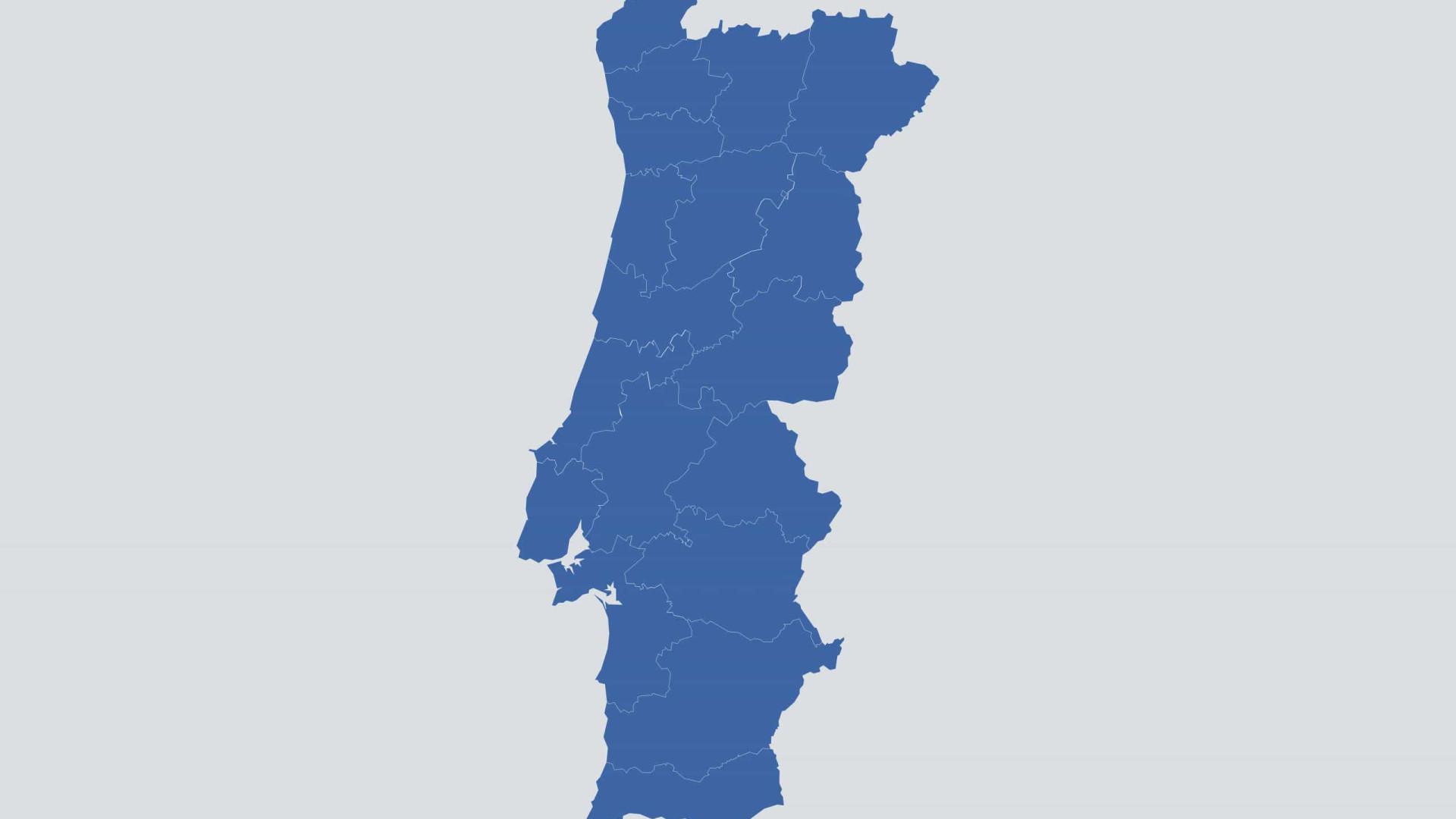 Lisboa supera 9 mil casos e Norte destaca-se. Eis os números por concelho