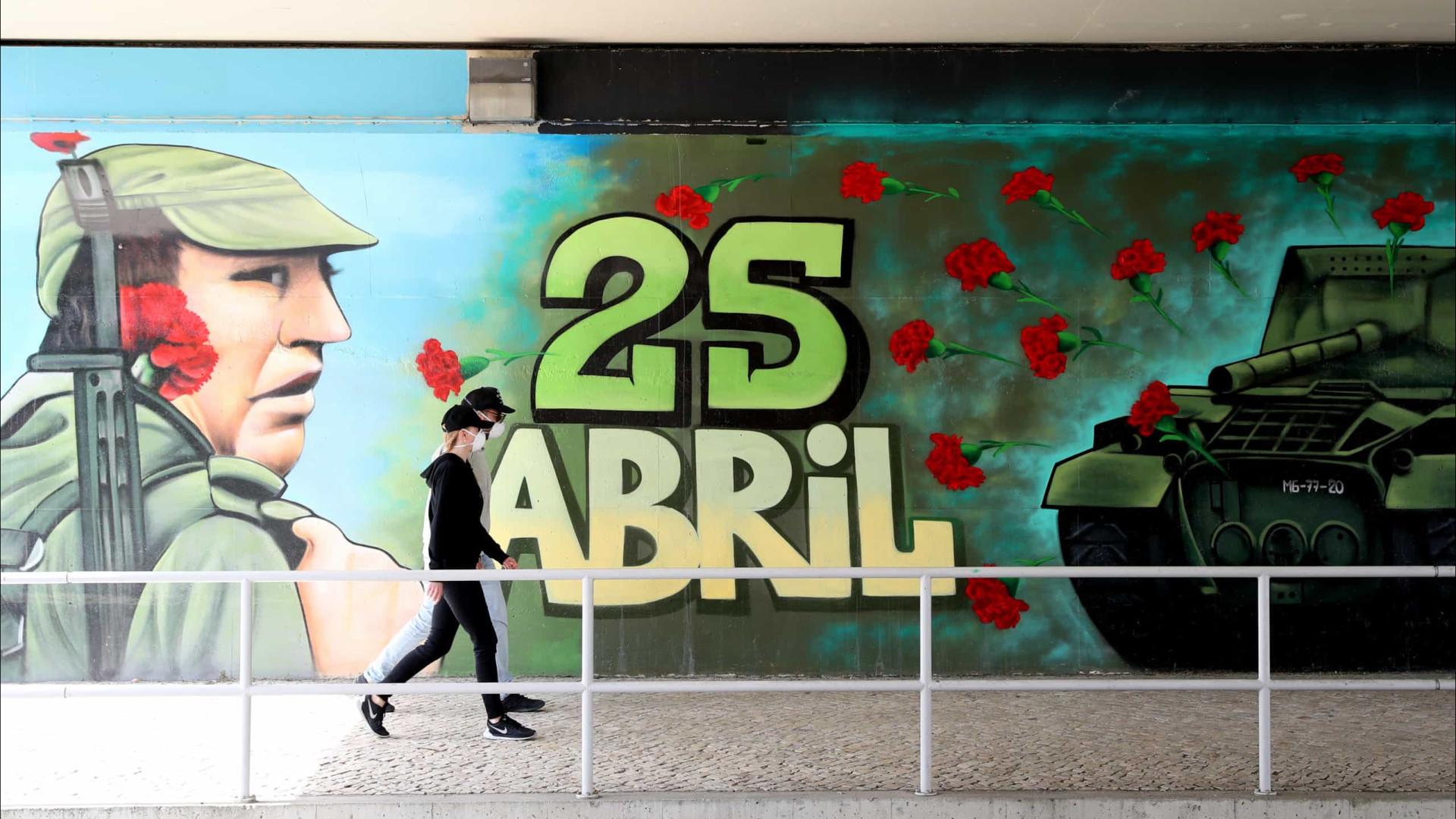 """25 Abril: DGS confirma que """"existem condições"""" para o desfile"""