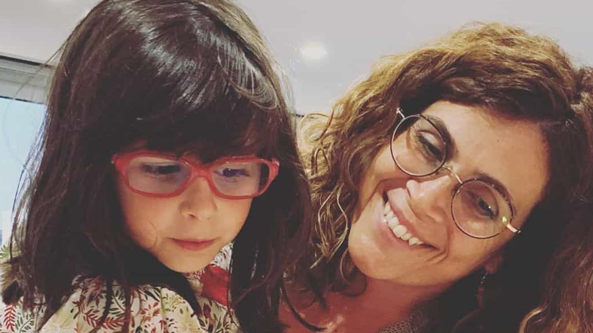 """Catarina Raminhos recorda nascimento da filha: """"Chorei como nunca antes"""""""