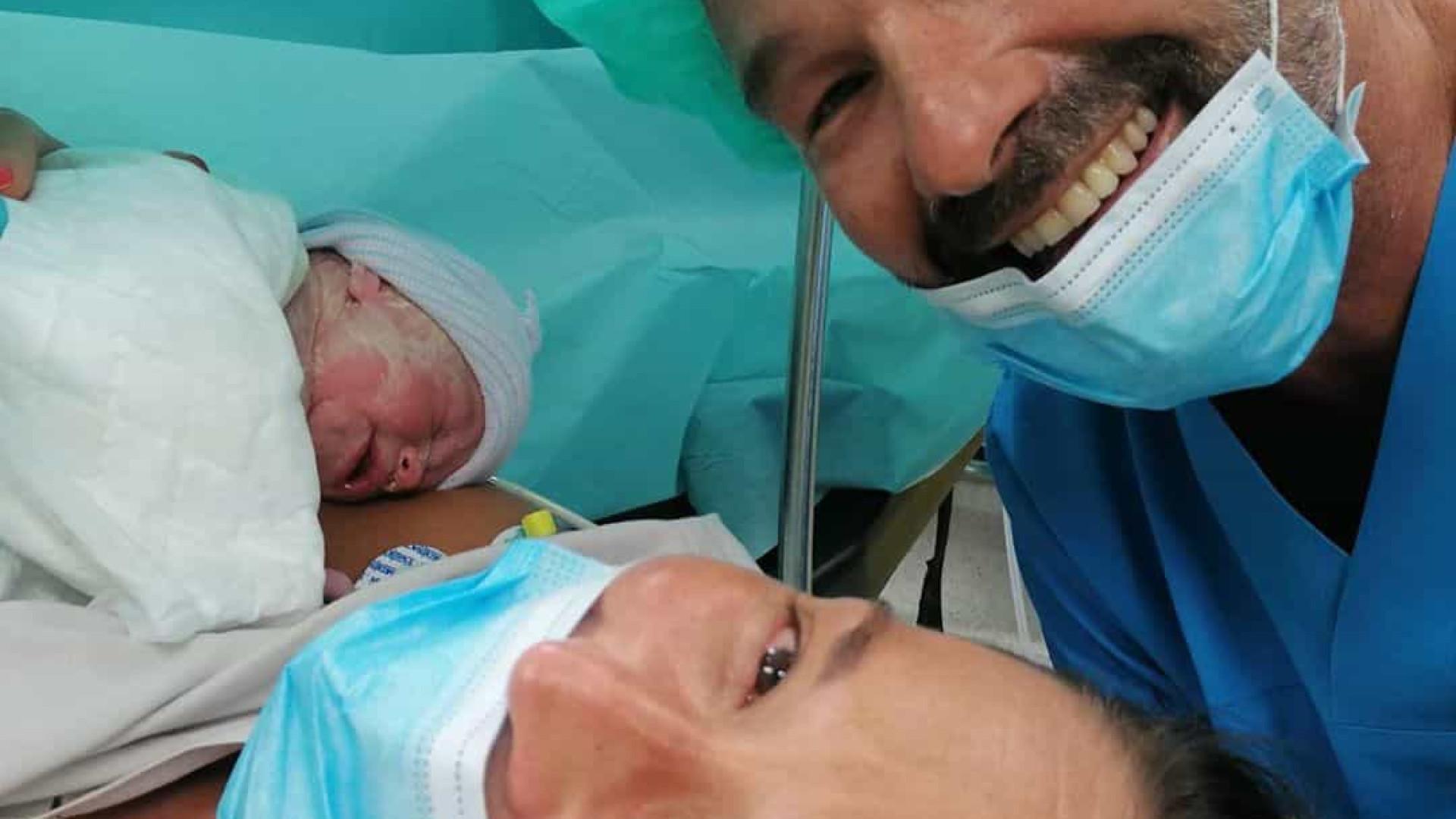 Marcantonio Del Carlo e Iolanda Laranjeiro foram pais há um ano