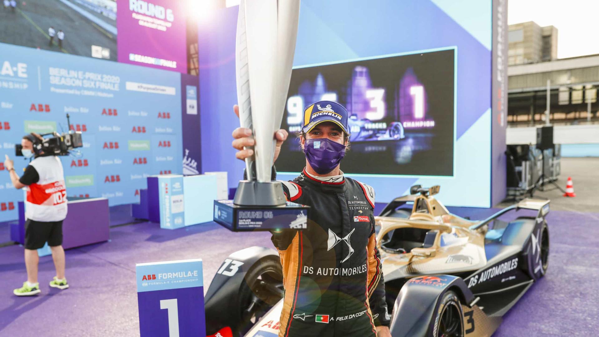 Formula E: Campeão Félix da Costa termina época com um 9.º lugar