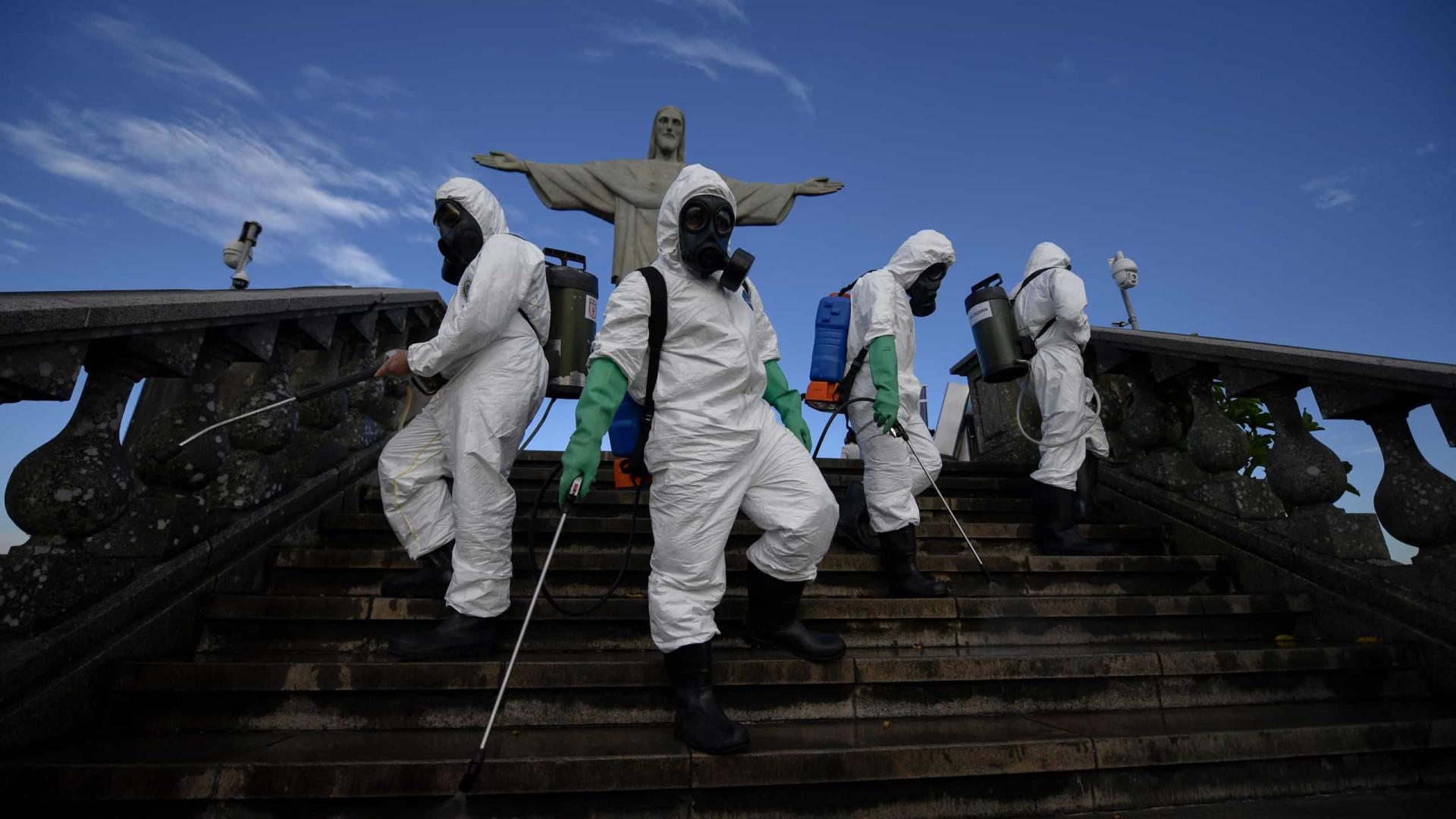 AO MINUTO: Brasil com 60.091 novos casos. Mais de 750 mil mortes no mundo