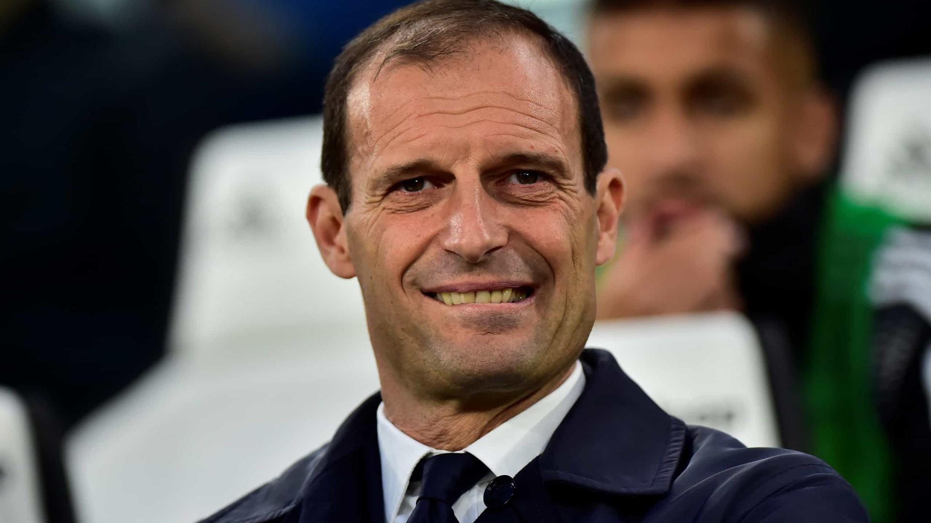 Massimiliano Allegri já terá proposta (choruda) em mãos do Real Madrid