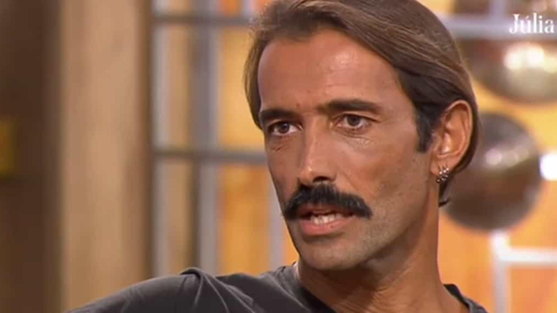 """Ator Rúben Gomes: """"Durante dois meses vivi na minha carrinha"""""""