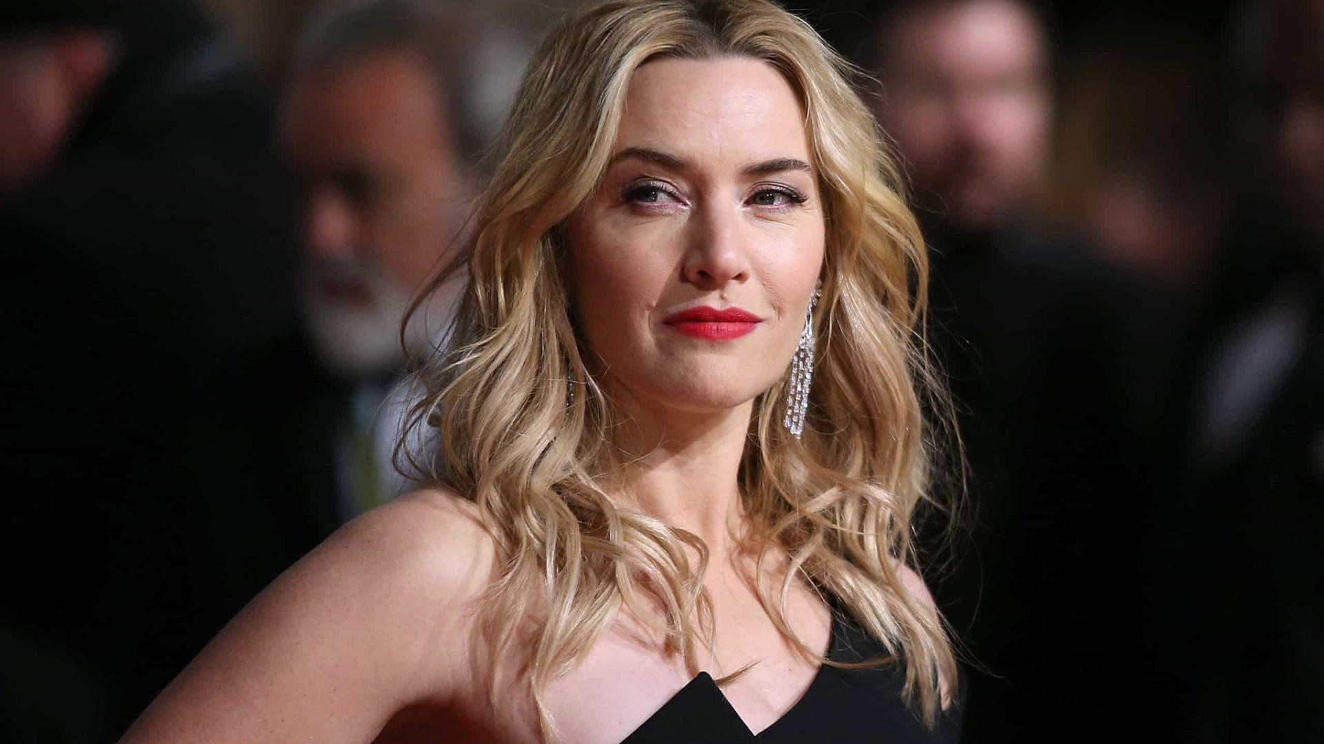 Este foi o vestido que Kate Winslet mais gostou de usar numa 'red carpet'