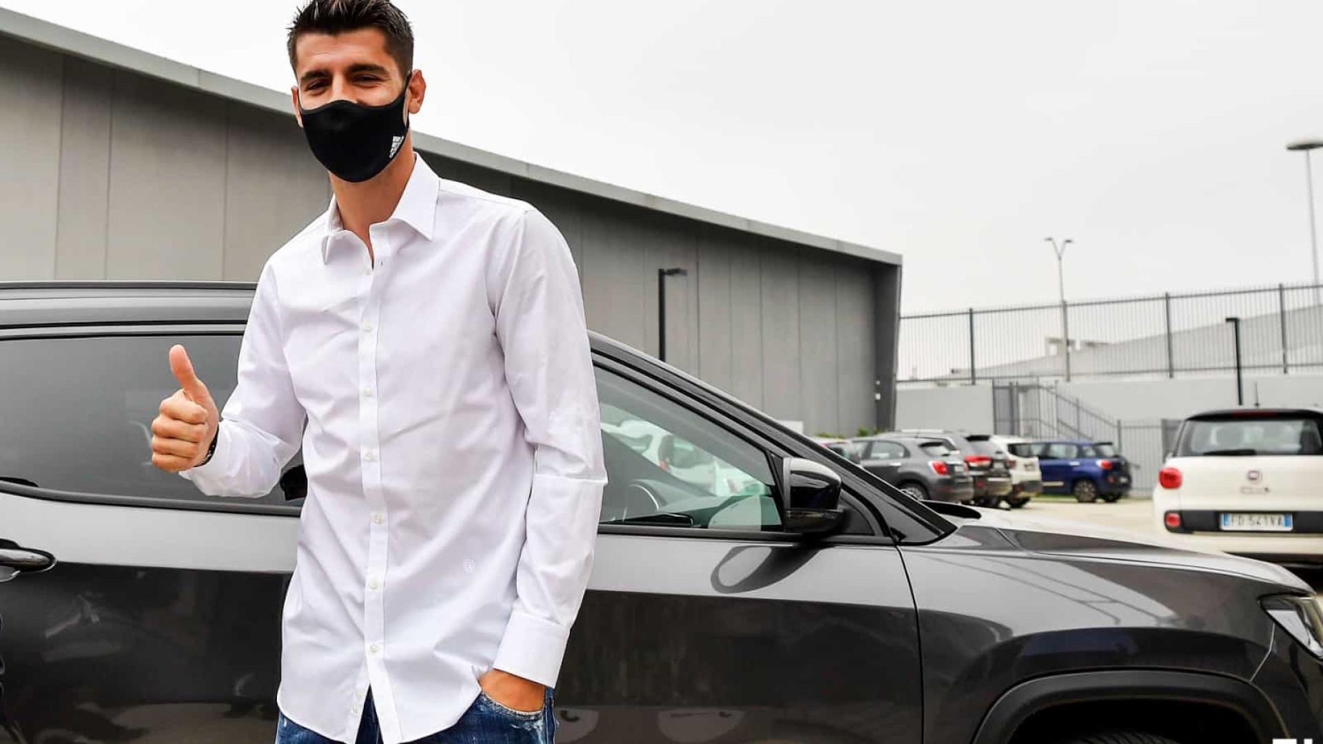 Oficial: Morata está de regresso à Juventus