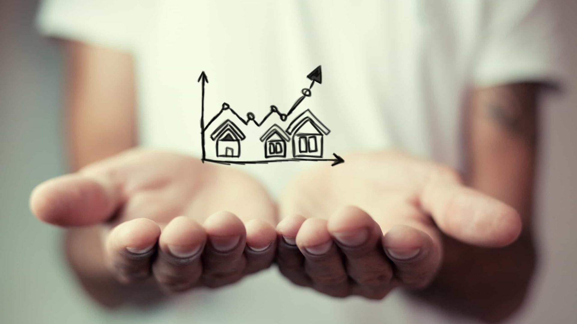 Novos créditos à habitação registam um aumento de 157%
