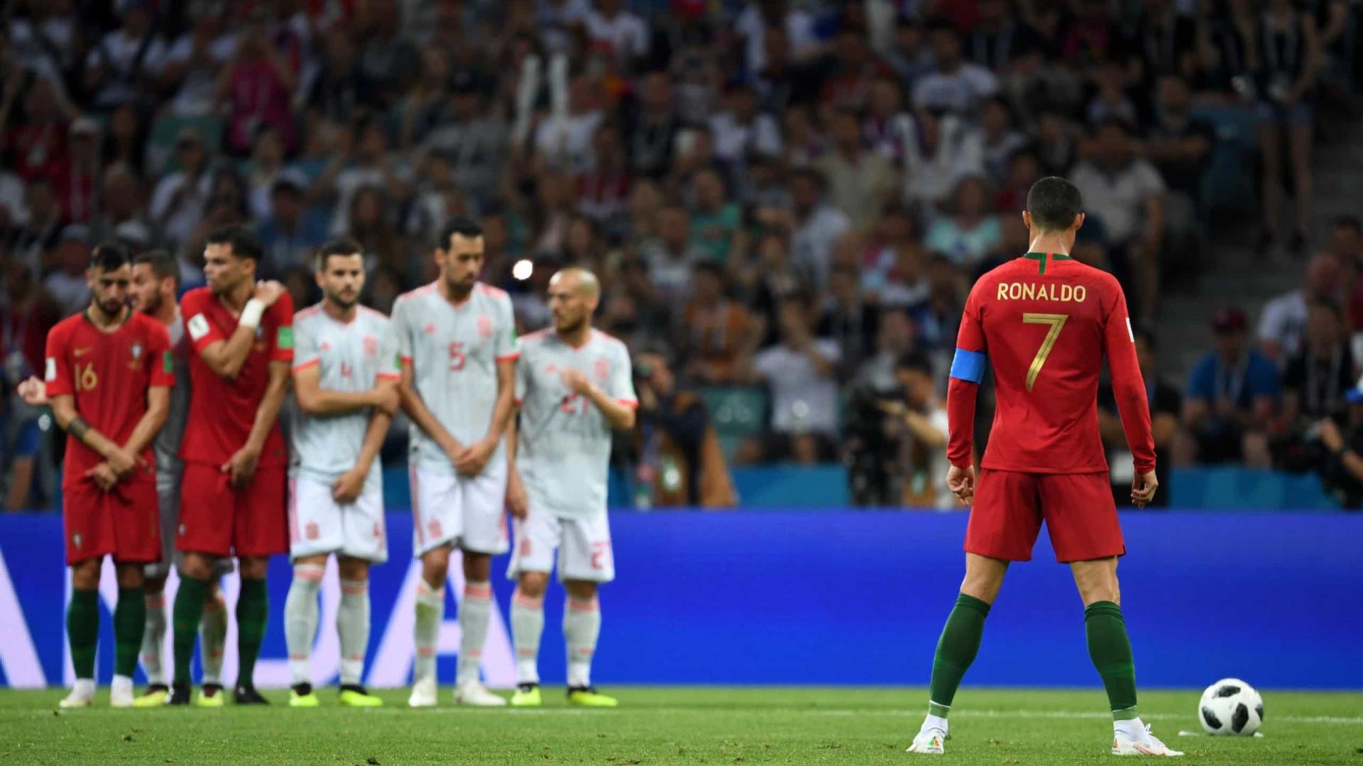 Portugal mantém o 5.º lugar no ranking da FIFA