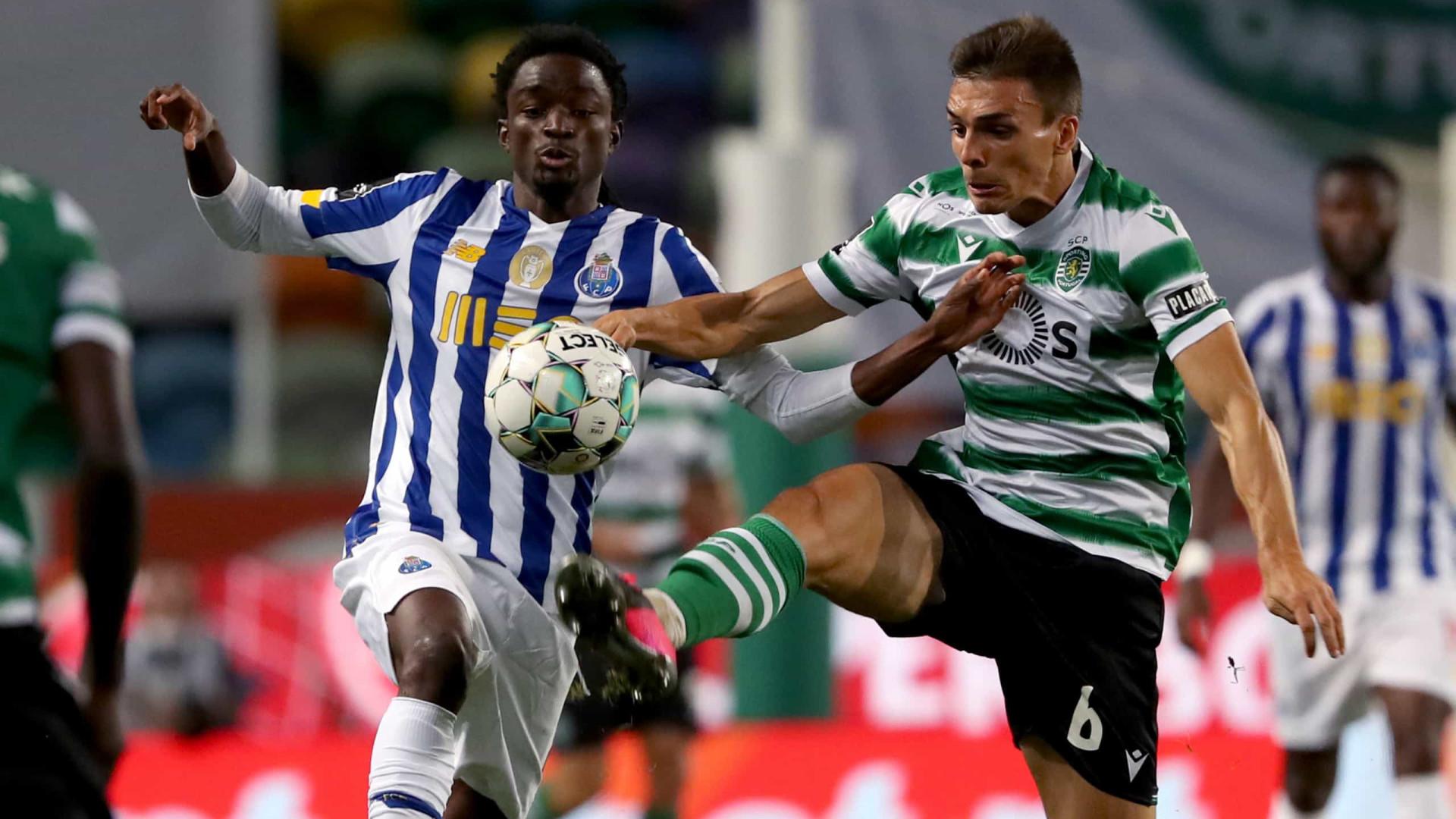 As Notas Do Sporting Fc Porto A Ansia Pelo Golo E Um Arbitro Polemico