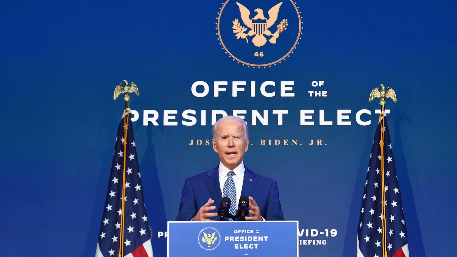 """Estados Unidos estão """"prontos para liderar o mundo"""", afirma Biden"""