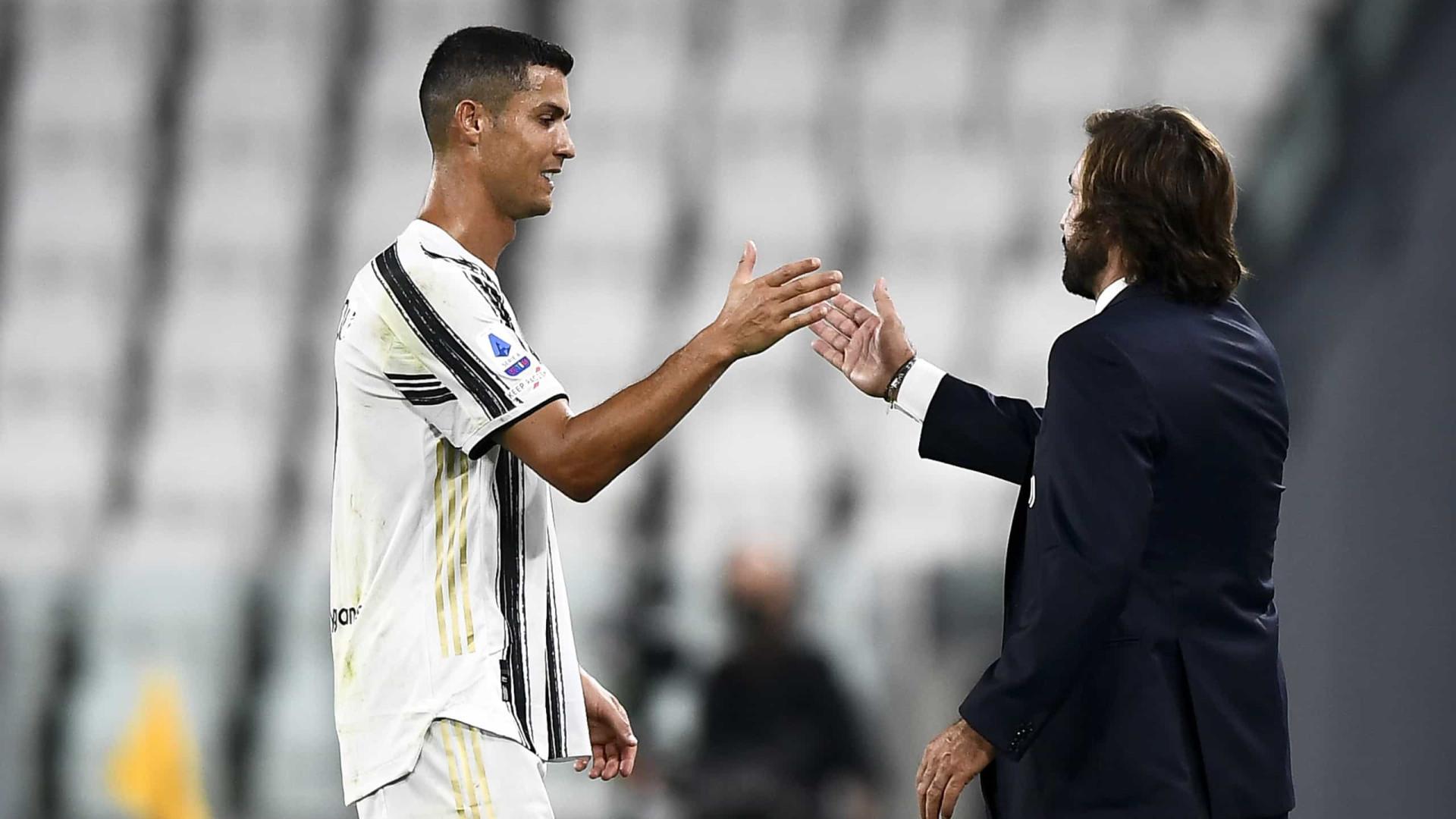 """""""Pirlo certamente permanece e Ronaldo também"""""""