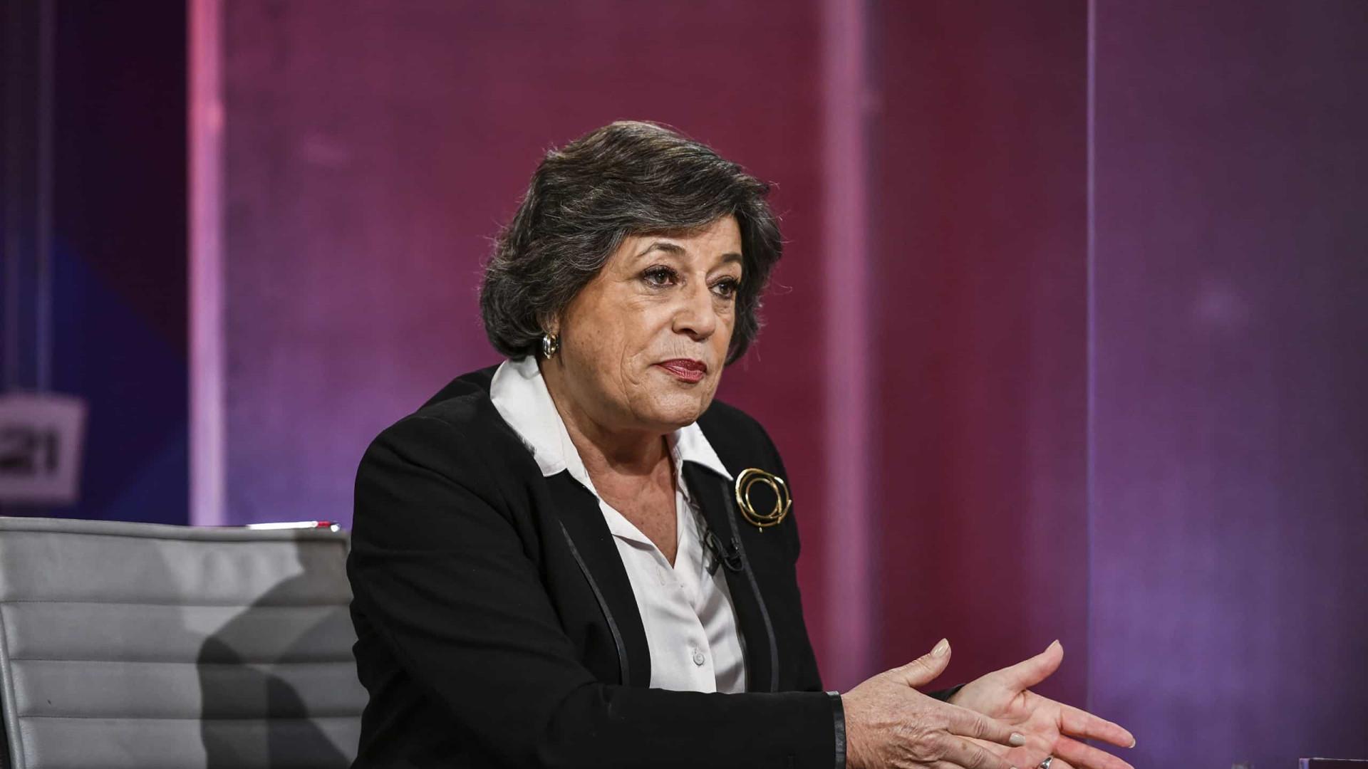 Ana Gomes teme trabalho para prescrição nos casos BES e Operação Marquês