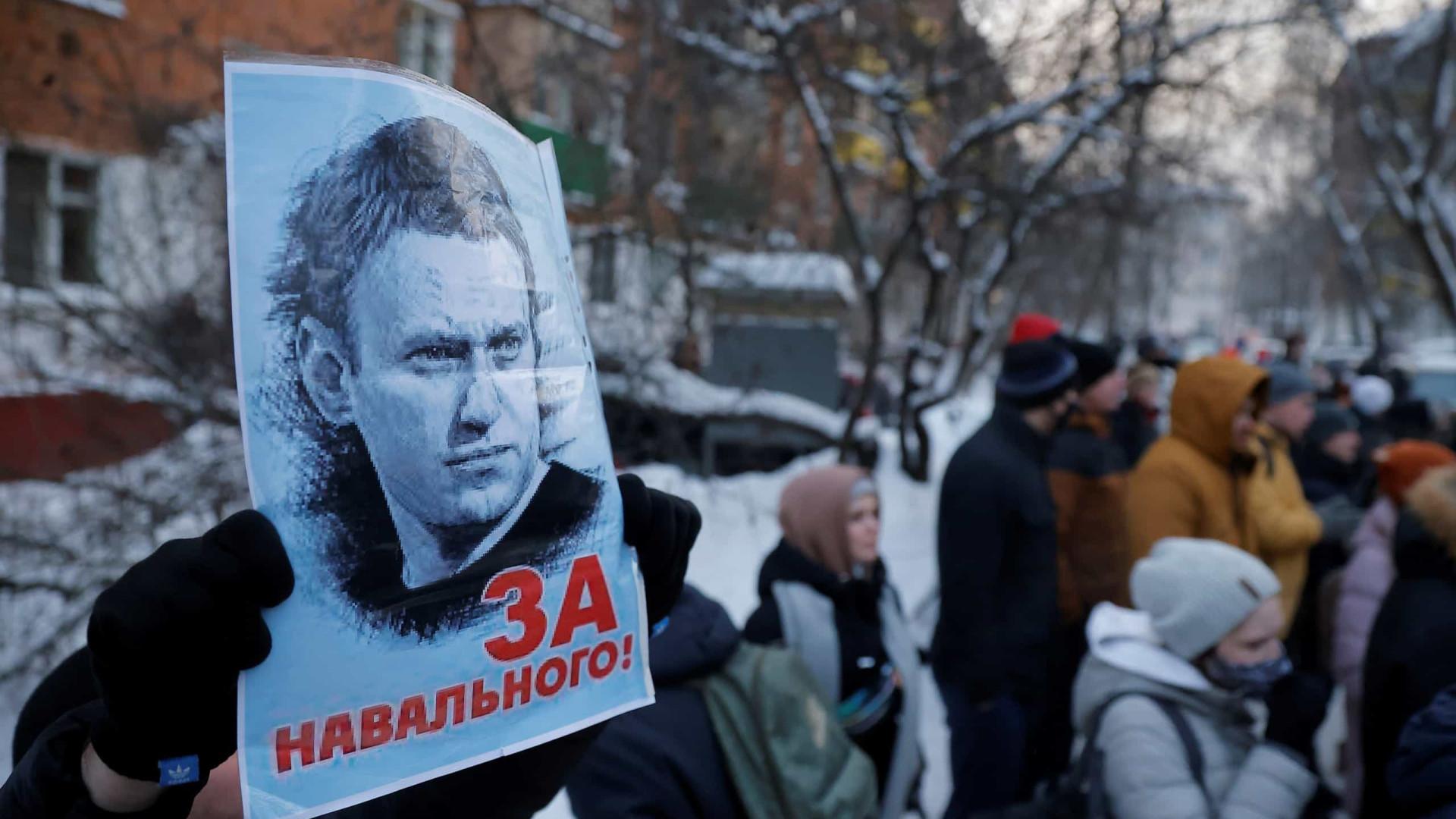 Tribunal determina 30 dias de prisão preventiva para Navalny