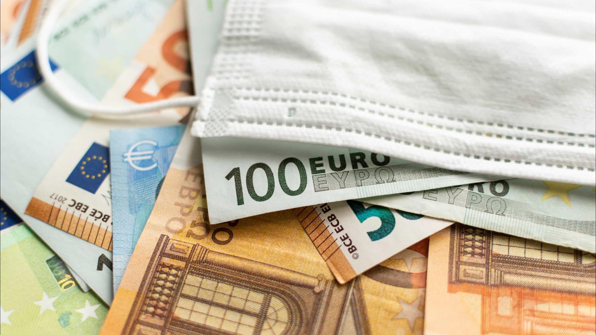 Terceira vaga agravou défice até junho para 7.060 milhões