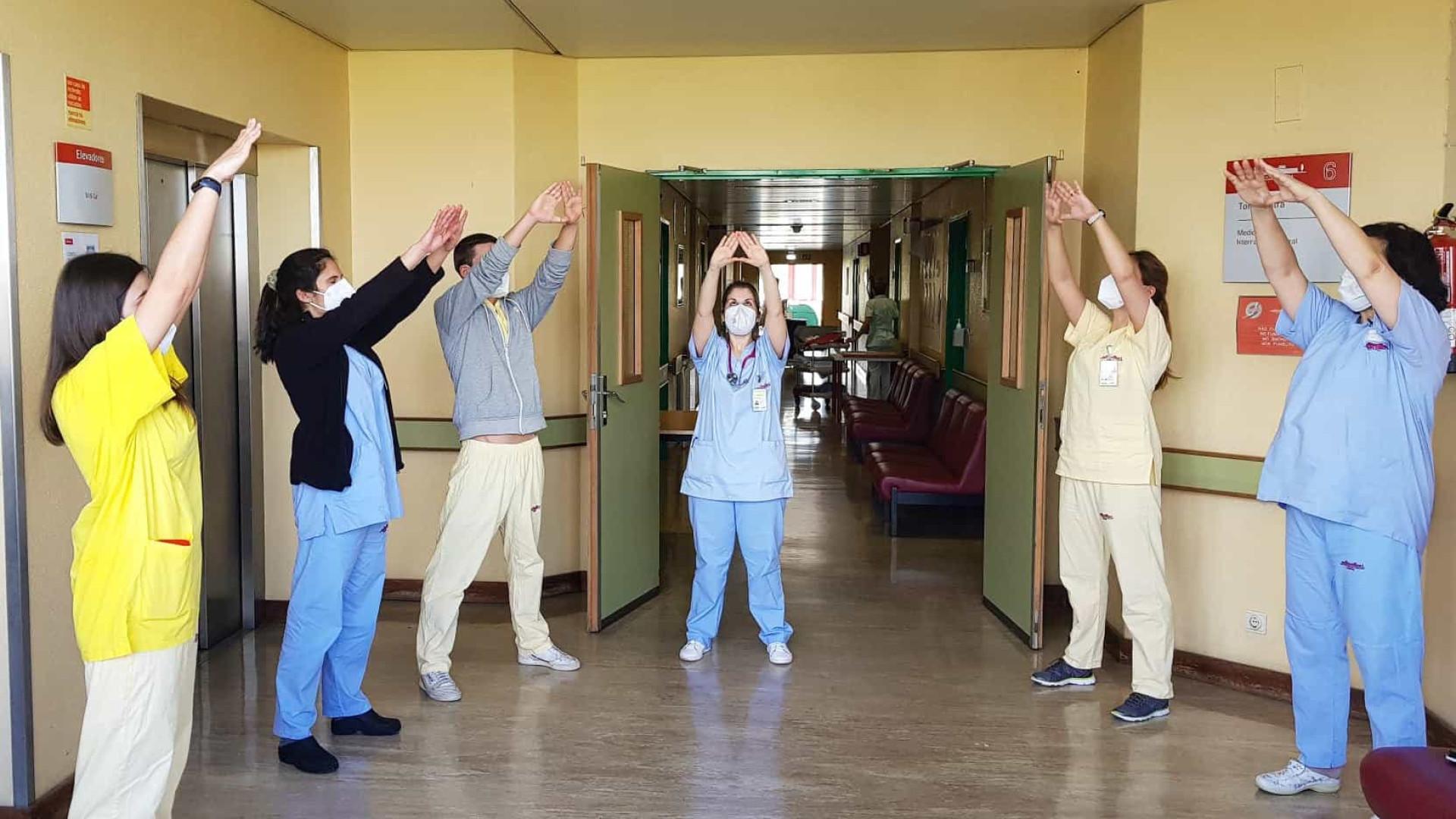 Amadora-Sintra com sessões de relaxamento para os profissionais de saúde