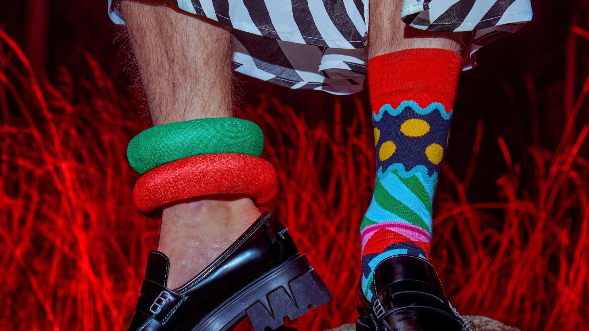 Happy Socks faz homenagem ao lendário David Bowie em nova coleção