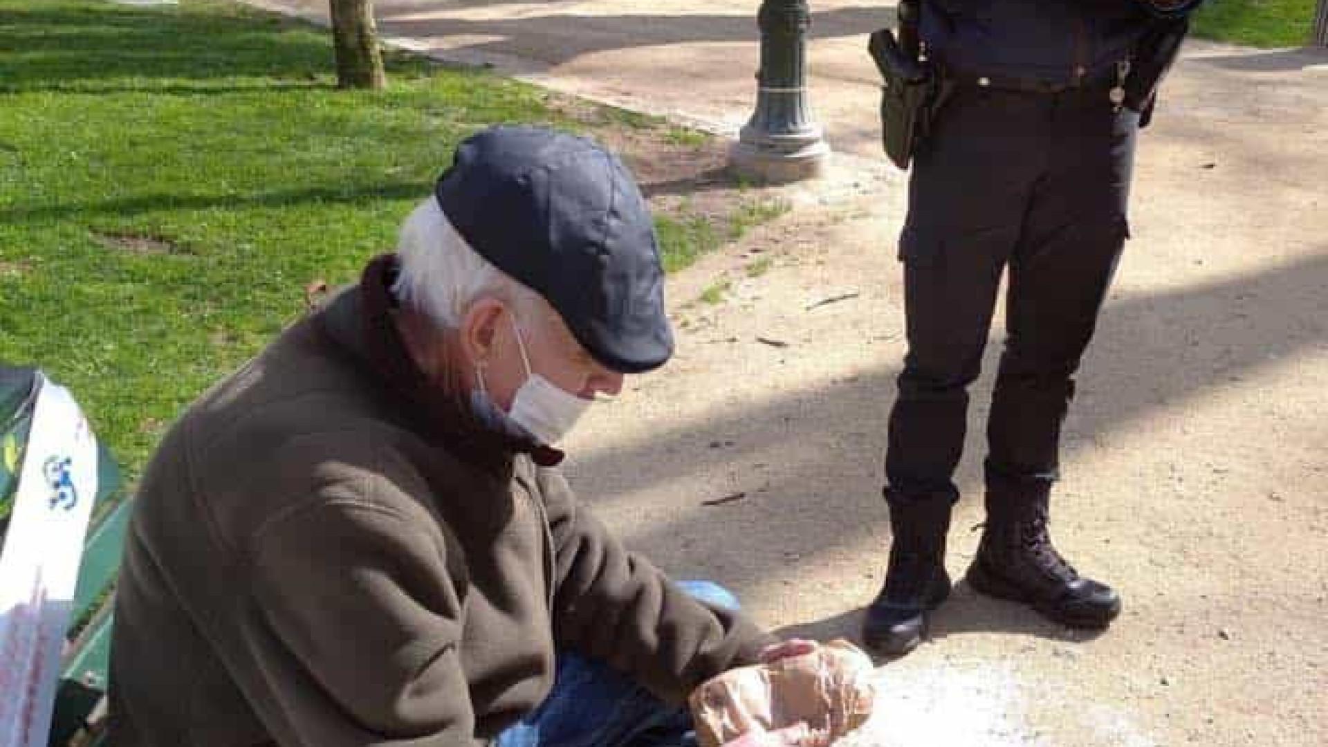 PSP desmente publicação no Facebook e nega ter autuado idoso no Porto