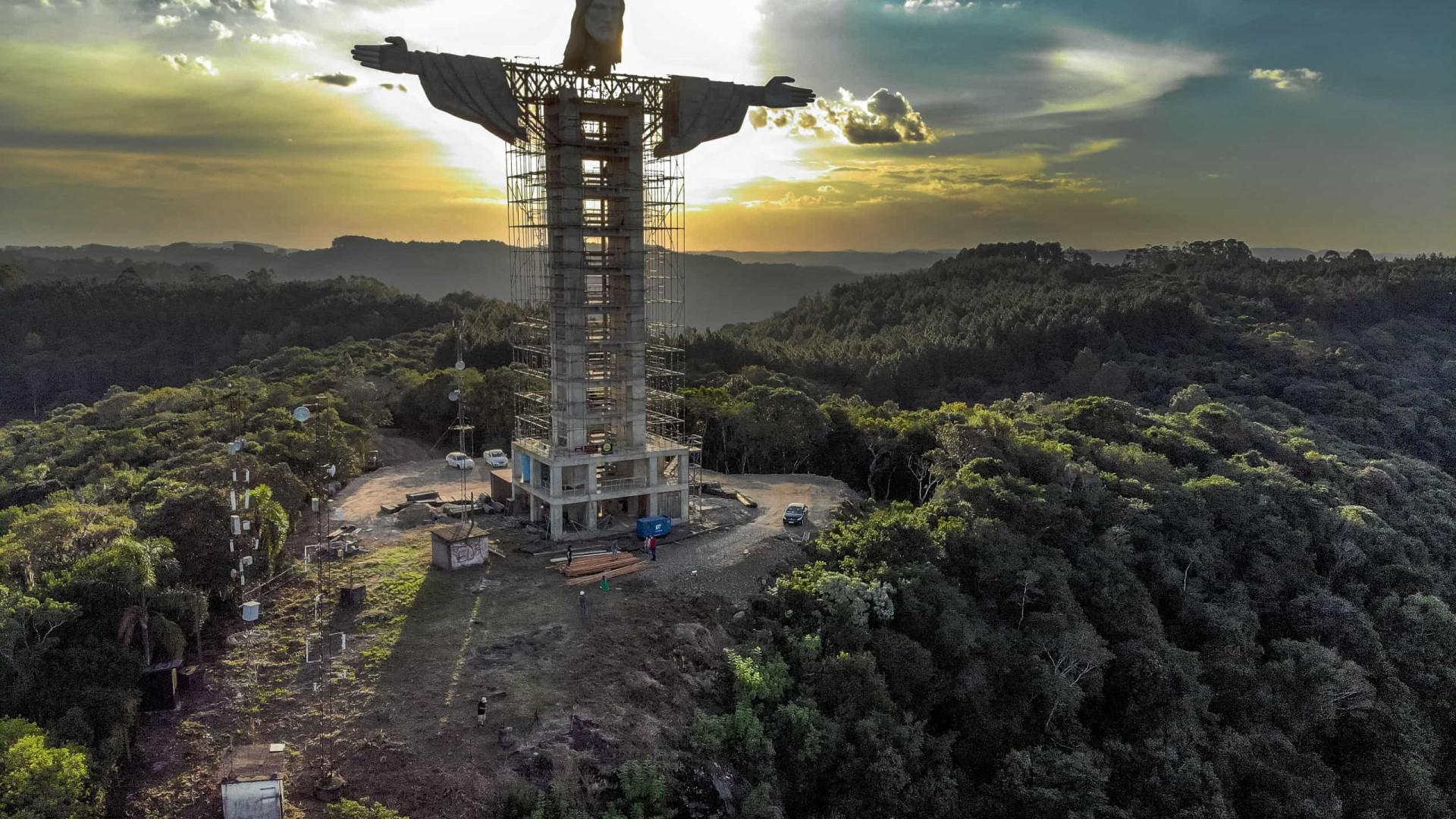 Brasil está a erguer um novo Cristo. Promete ser o maior do país