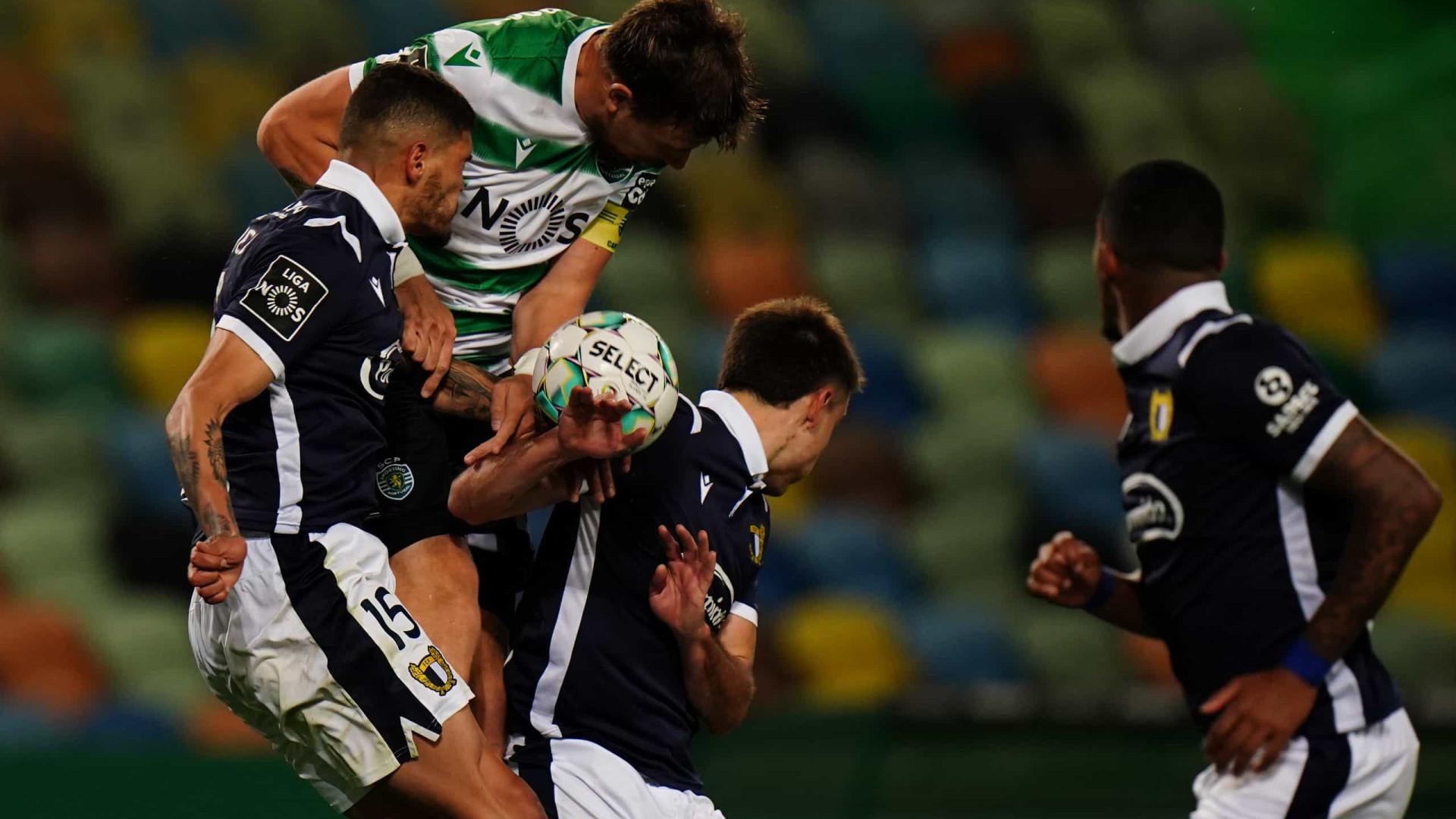 """Jogadores do Sporting reagem ao empate com o Famalicão: """"Contra todos"""""""