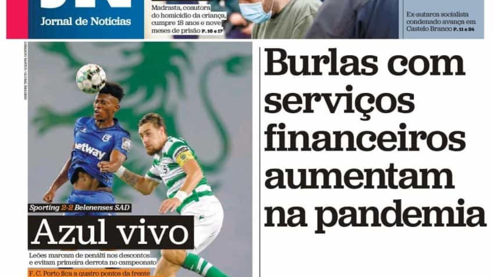 Hoje é notícia: Burlas com serviços financeiros sobem; 'Burnout' parental